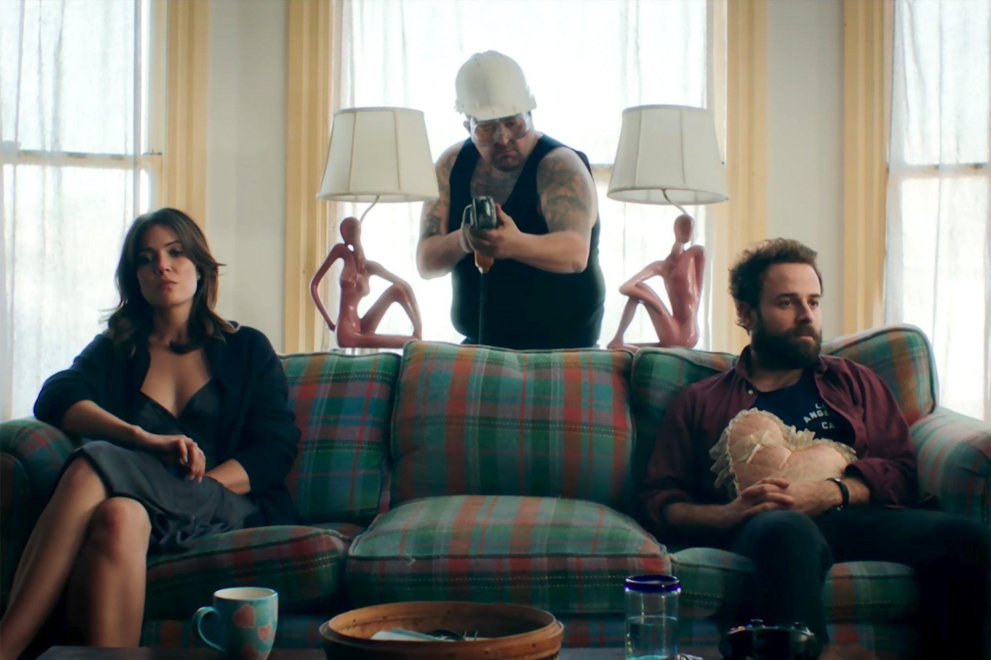 Mandy Moore in the Dawes new music video Roll with the Punches