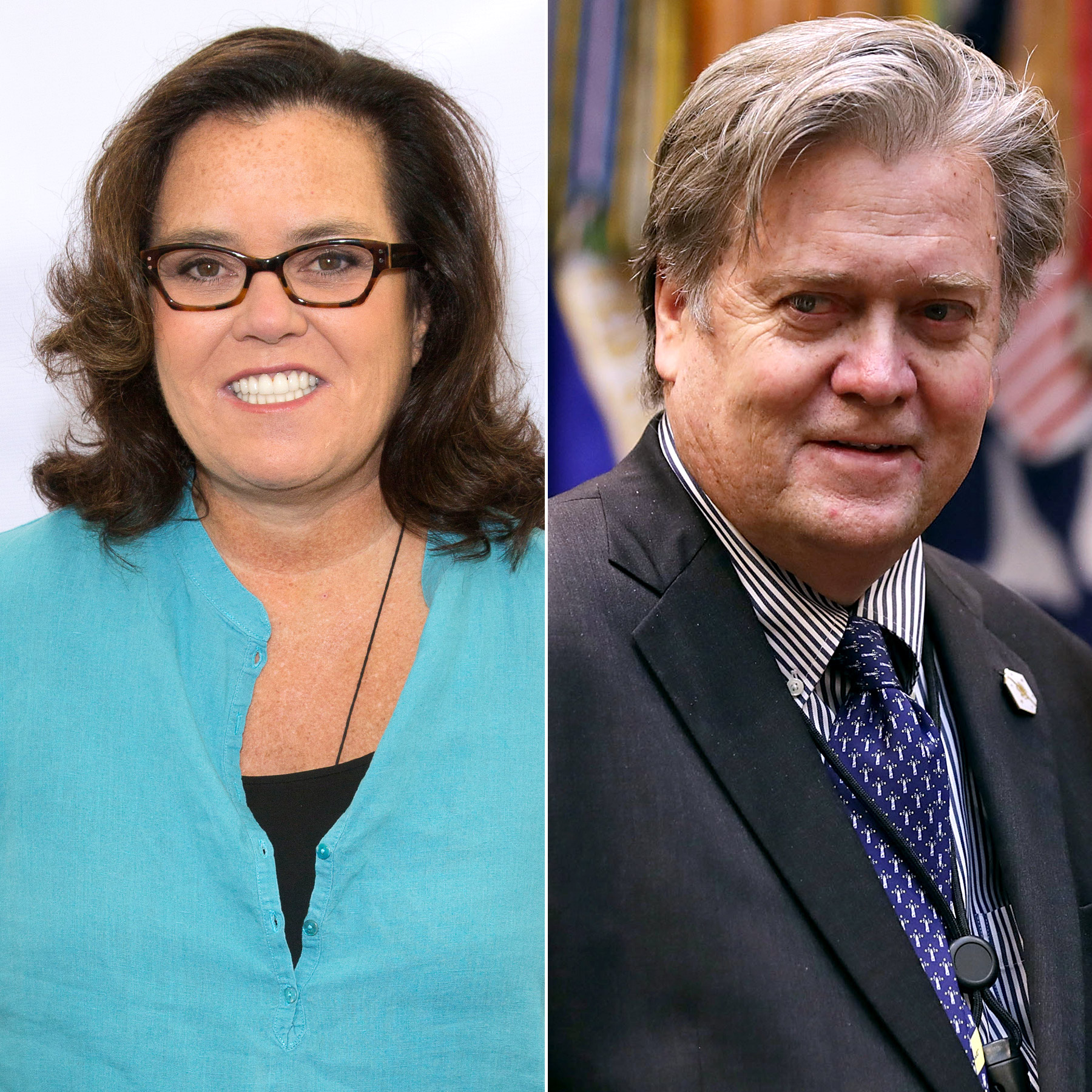 Rosie O'Donnell will play Steve Bannon on SNL