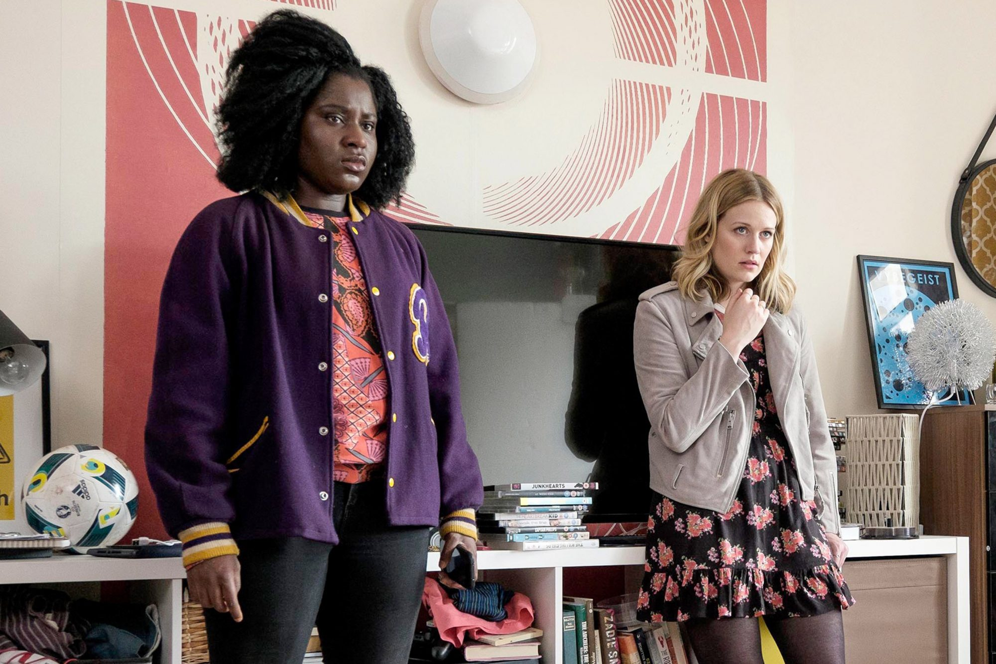 CRAZYHEAD, (from left): Susan Wokoma, Cara Theobold, 'Shave the Cat', (Season 1, ep. 103, aired in