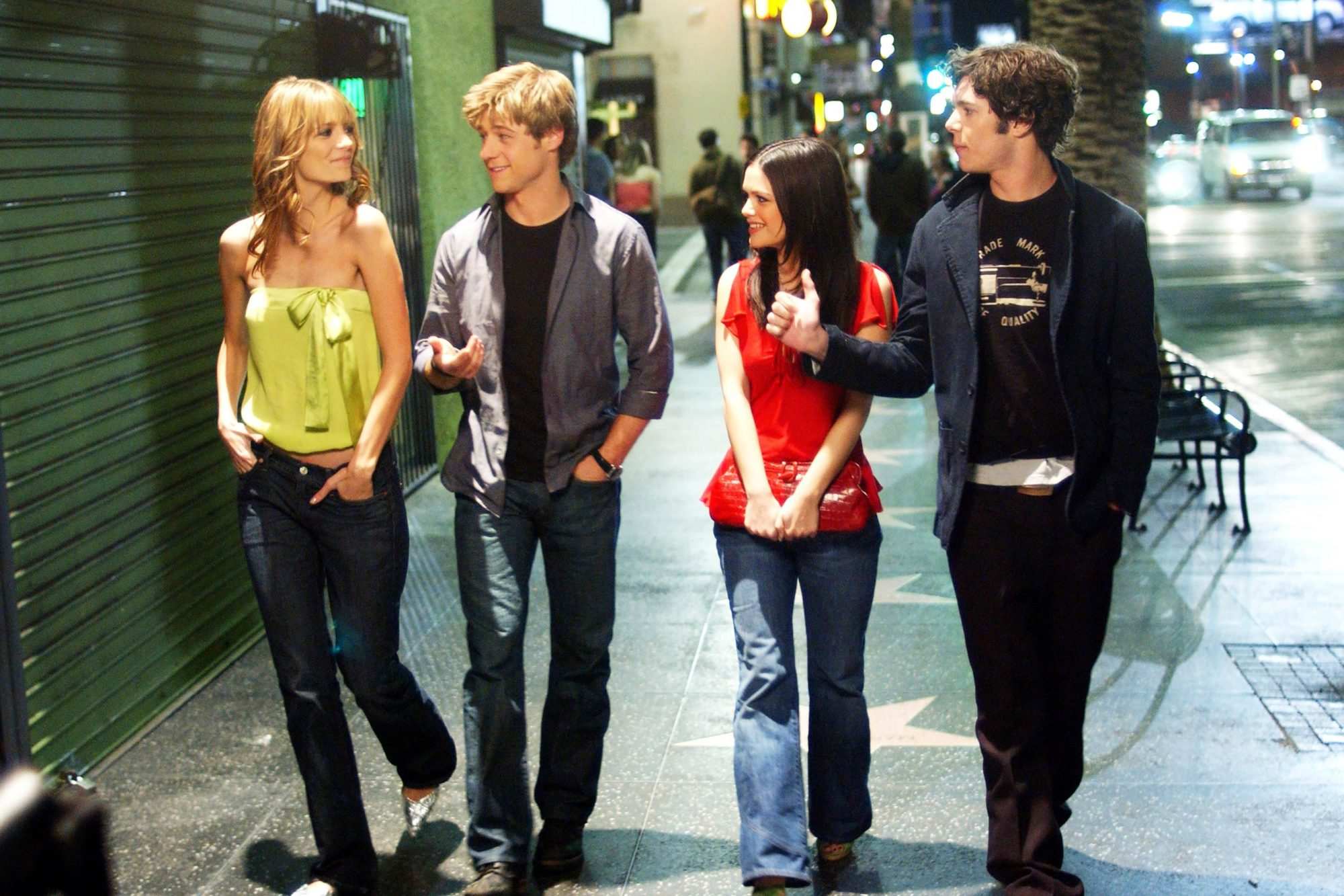 THE O.C., Mischa Barton, Benjamin McKenzie, Rachel Bilson, Adam Brody, 'The LA', (Season 1), 2003-20