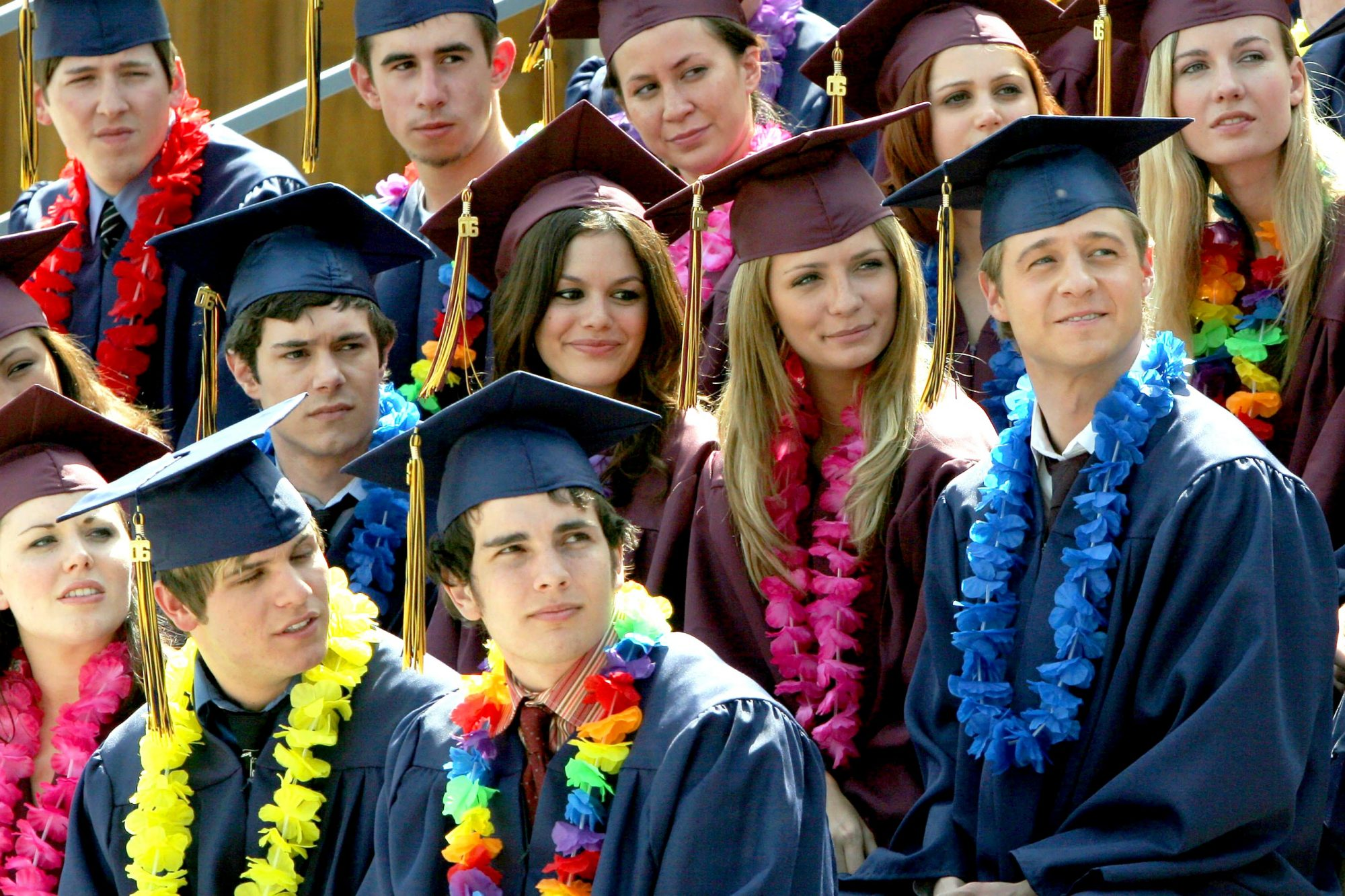 THE O.C., Adam Brody, Rachel Bilson, Mischa Barton, Benjamin McKenzie, 'The Graduates', (Season 3, a