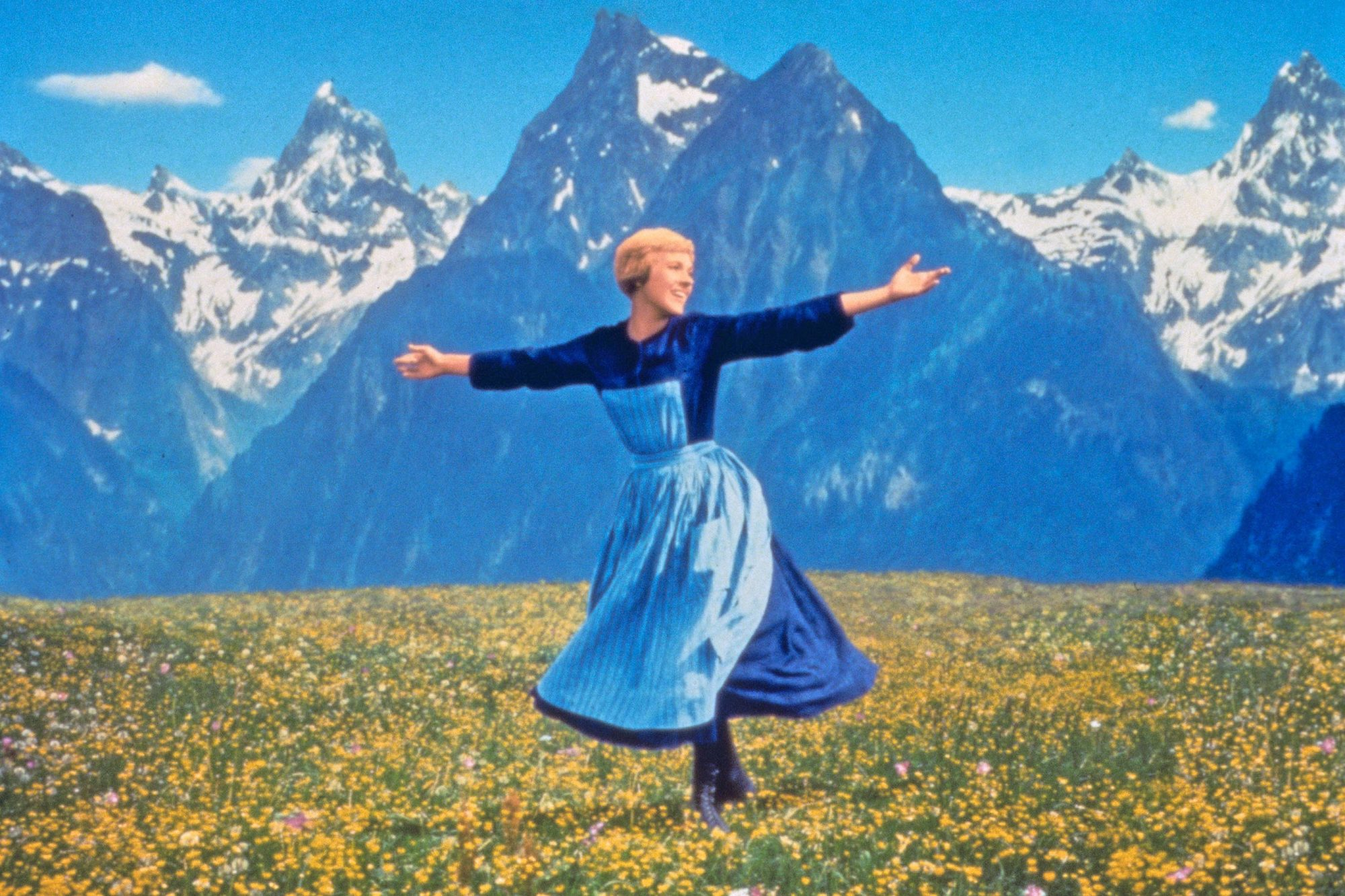 THE SOUND OF MUSIC, Julie Andrews, 1965, TM and Copyright ©20th Century-Fox Film Corp. All Rights Re