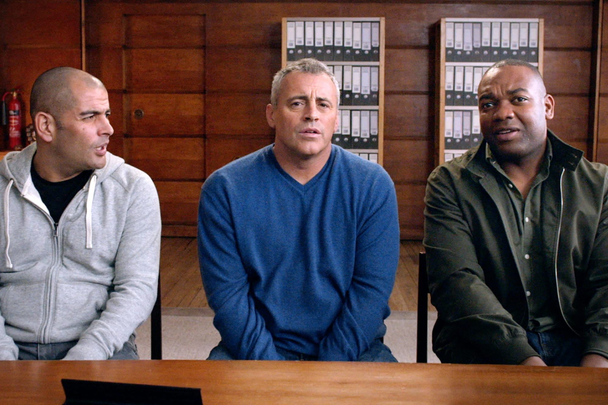 Top Gear - -- Pictured: Harris, LeBlanc, Reid - AMC Networks CR: BBC America