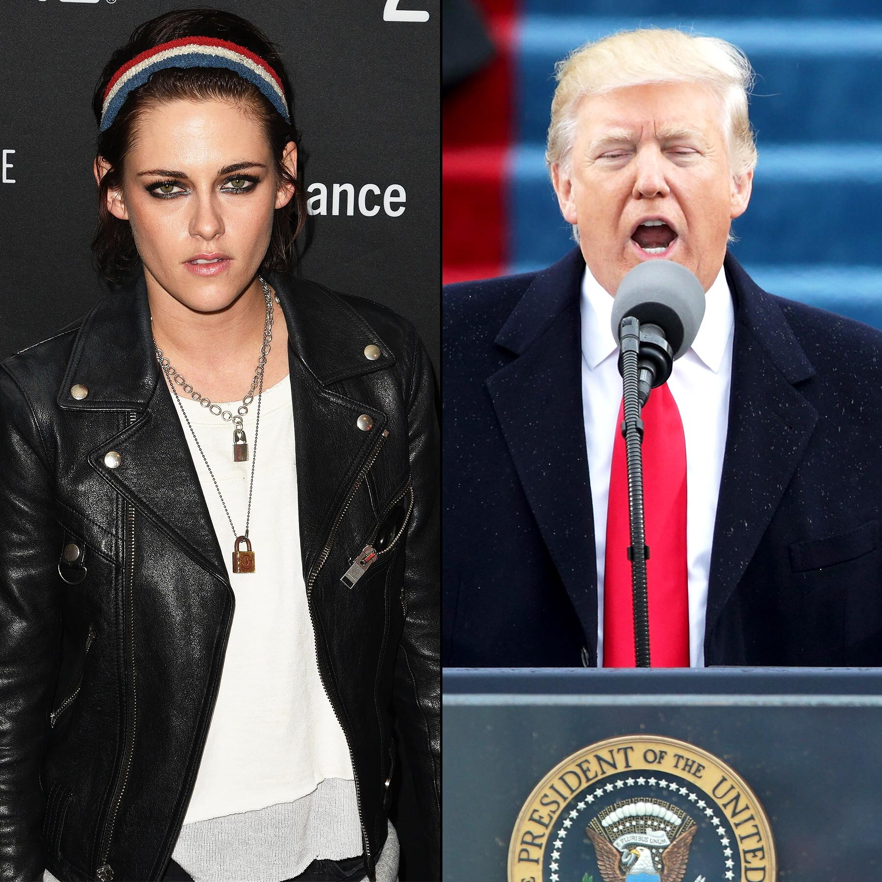 Donald Trump Kristen Stewart Tweets Read Them Here Ew Com