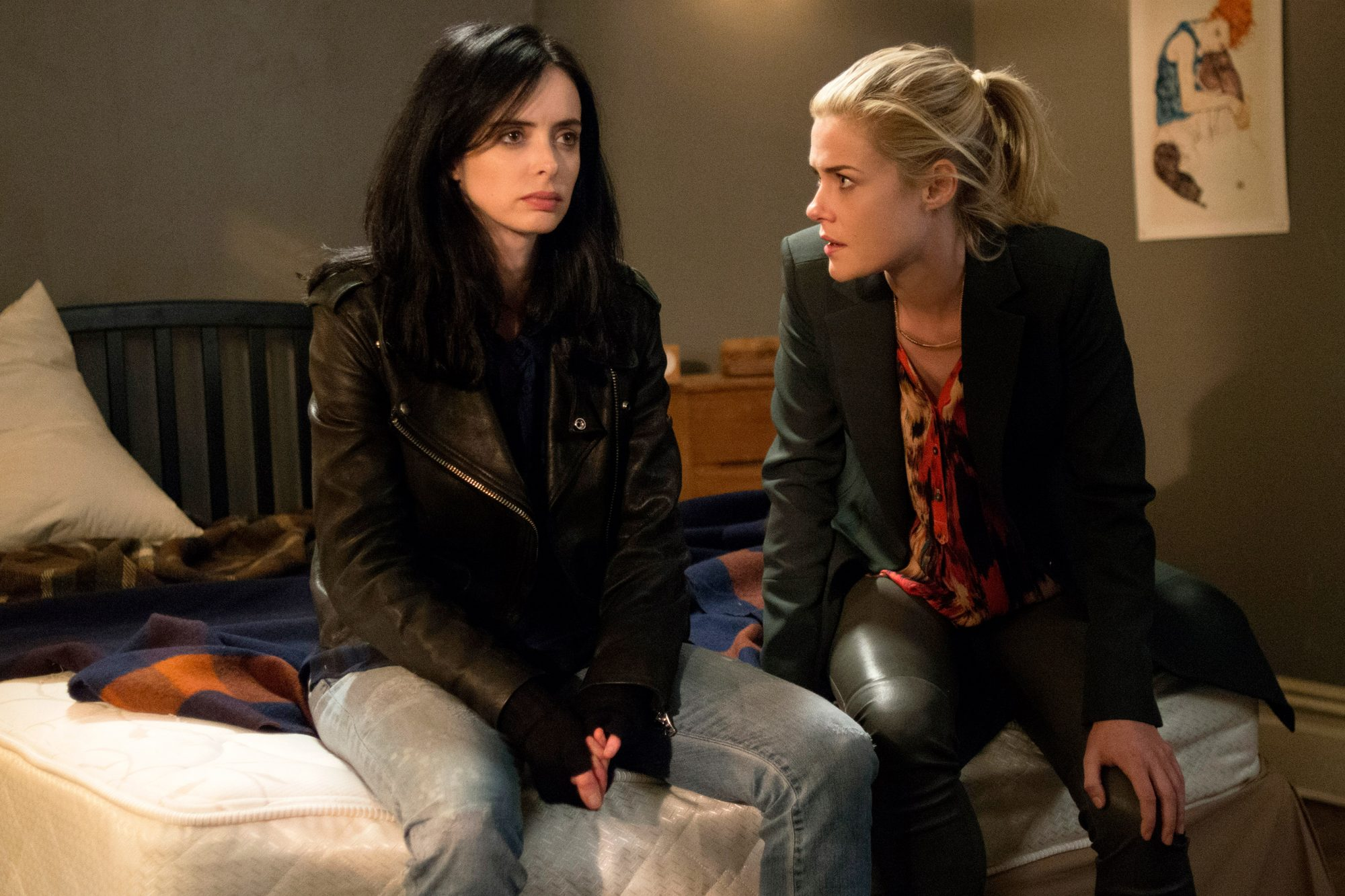 Jessica and Trish (Marvel's Jessica Jones)