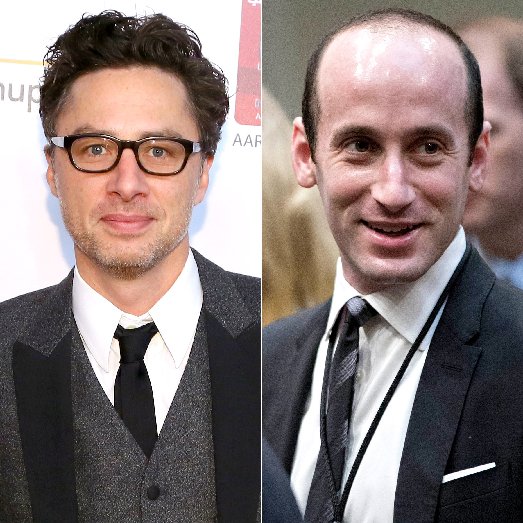 Zach Braff will play Stephen Miller on SNL