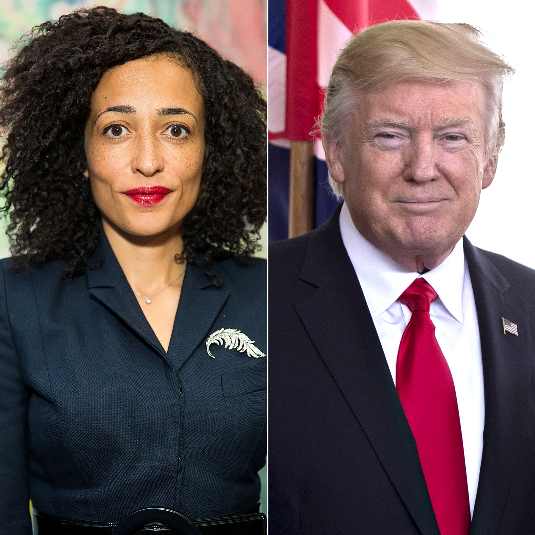 Zadie Smith and Donald Trump