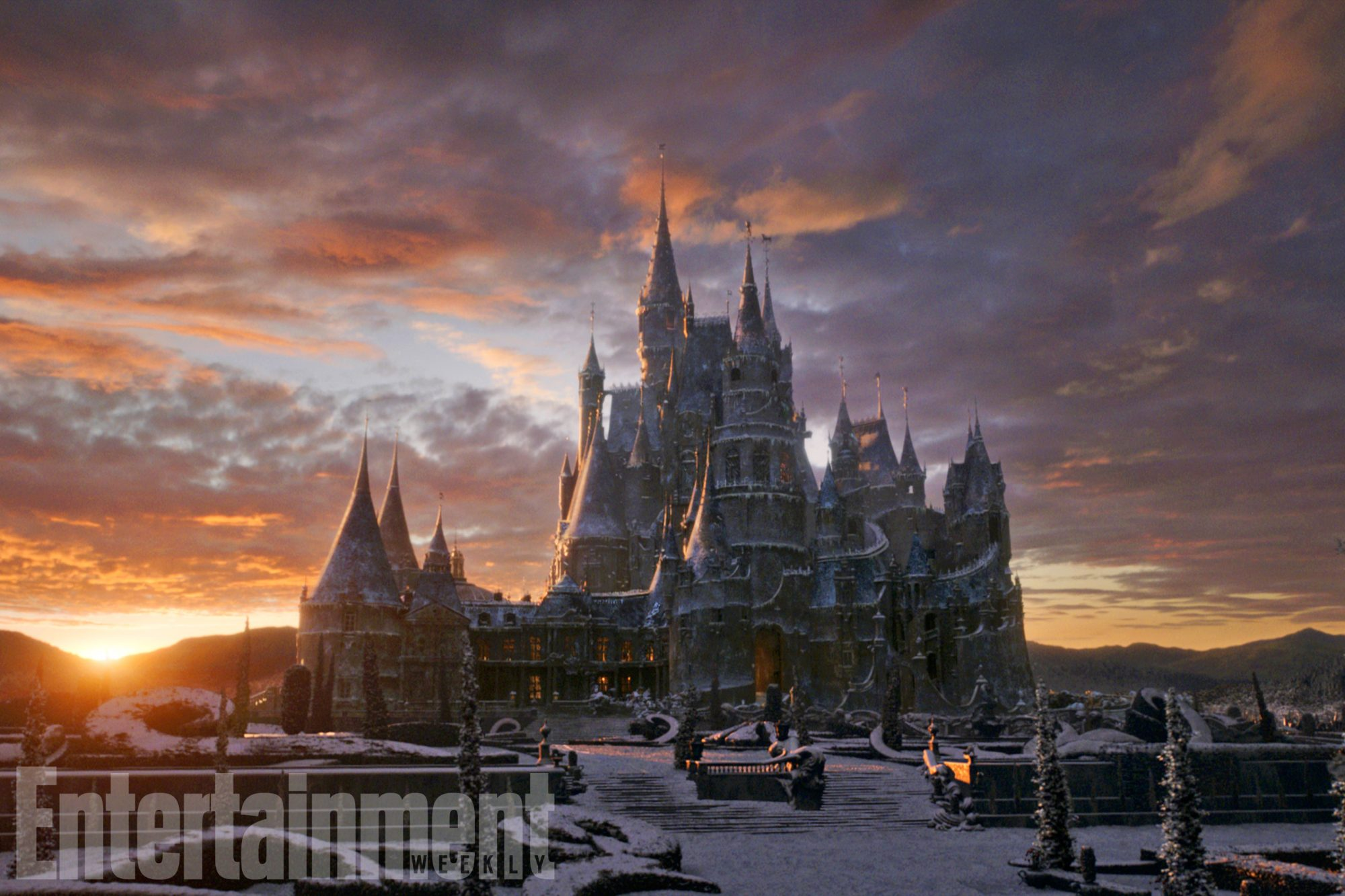 Beauty And The Beast See The Magical Sets Ew Com