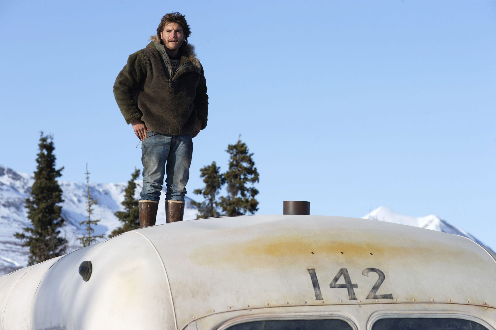 Into the Wild (2007)Emile Hirsch