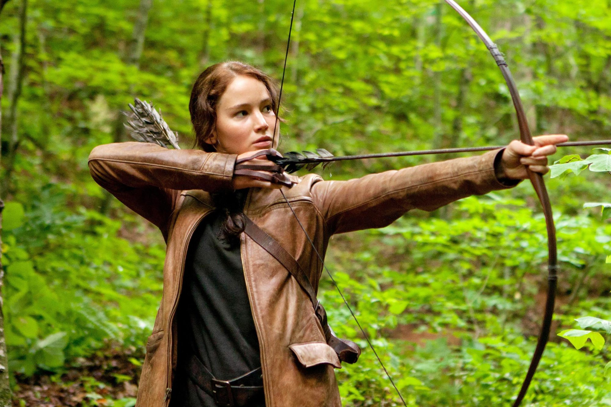 Katniss Everdeen, (The Hunger Games, 2012)
