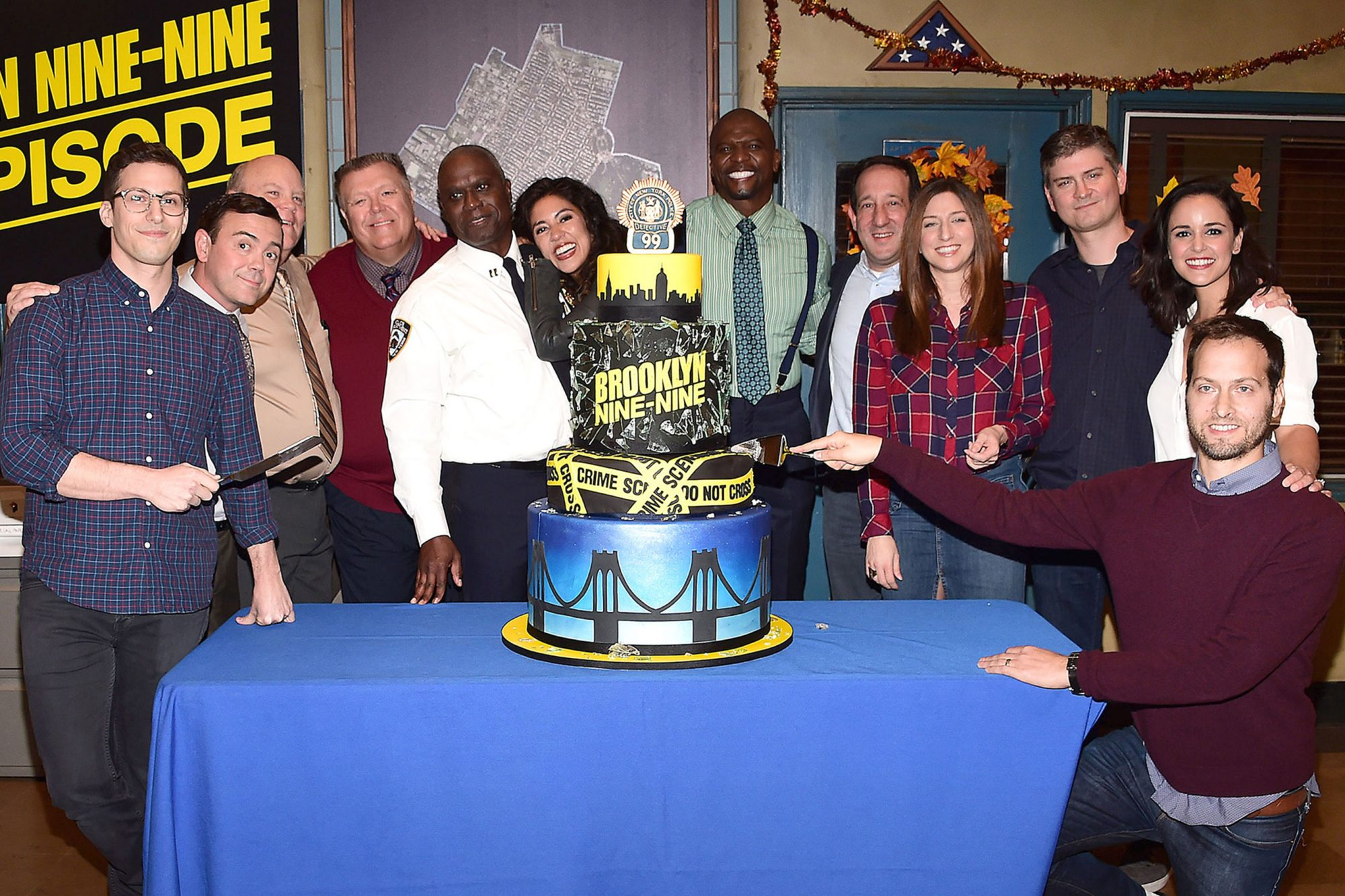 10/04/17 - Studio City:  Fox'sBROOKLYN NINE-NINE: 99th Episode Celebration