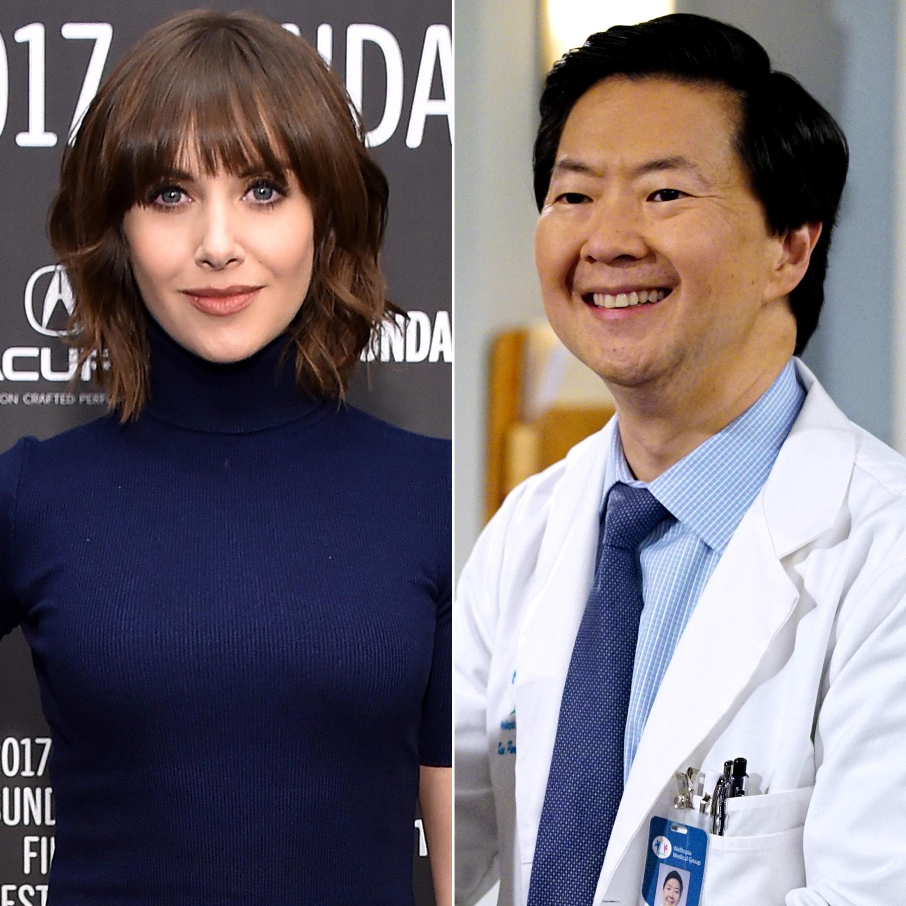 Alison Brie & Dr. Ken