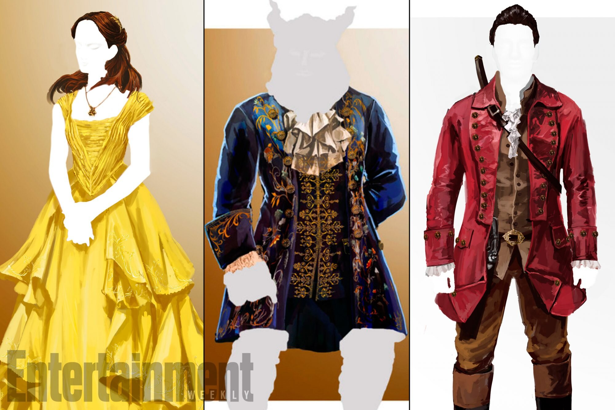 Beauty And The Beast Costumes Photos