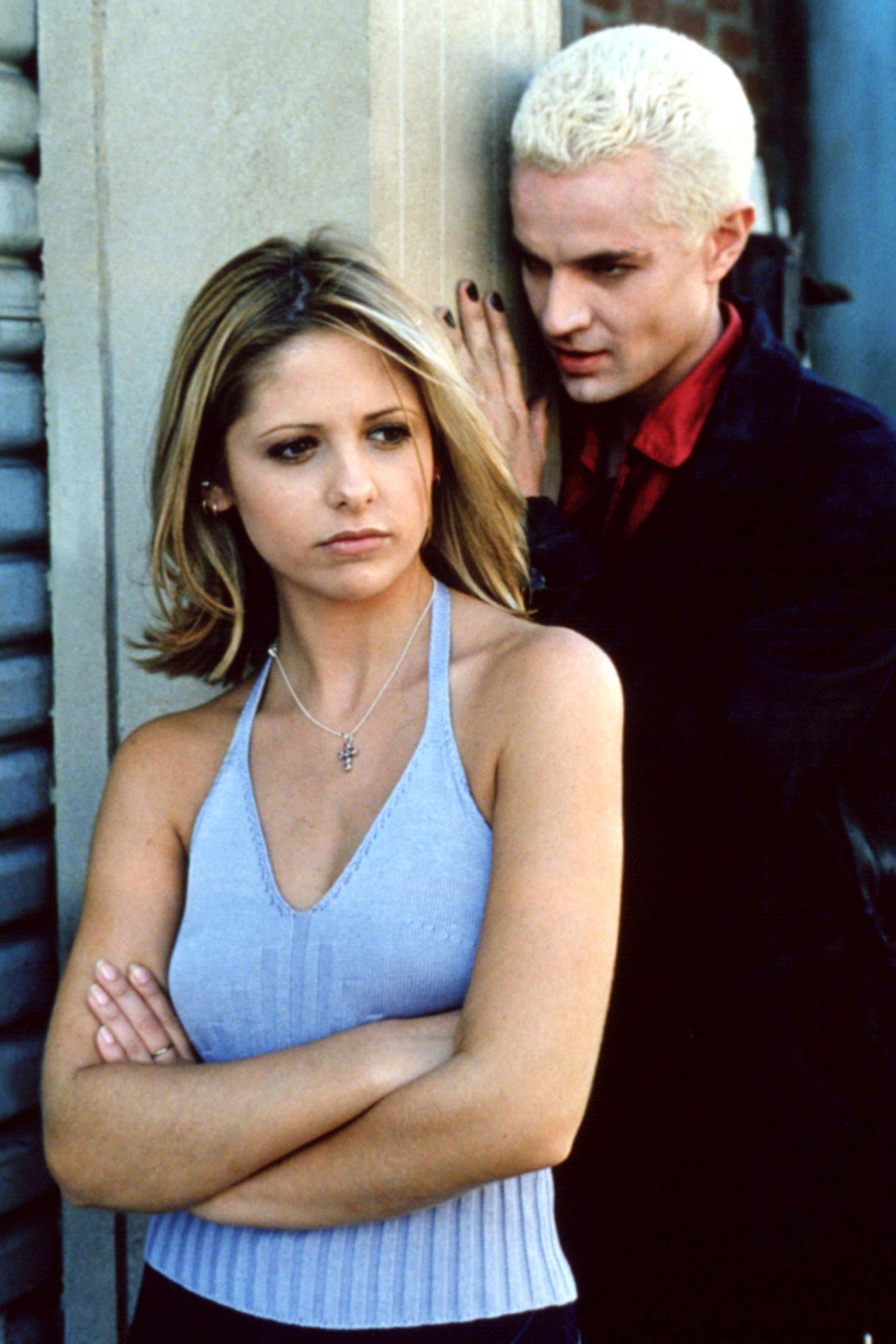 BUFFY THE VAMPIRE SLAYER, Sarah Michelle Gellar, James Marsters, 1996-2003, Season 3, TM and Copyri