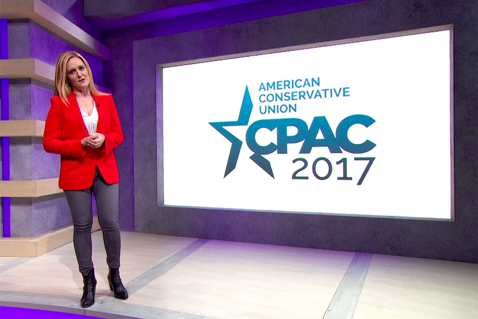 Samantha Bee - CPAC