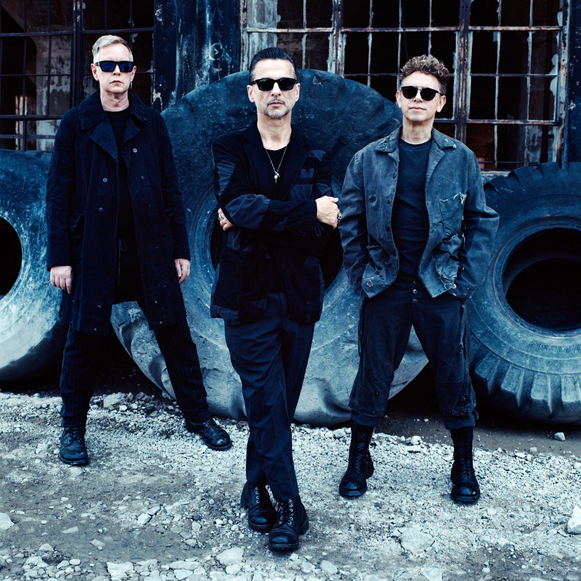 Depeche Mode (2017)Publicityndrew Fletcher, Dave Gahan, and Martin Gore.
