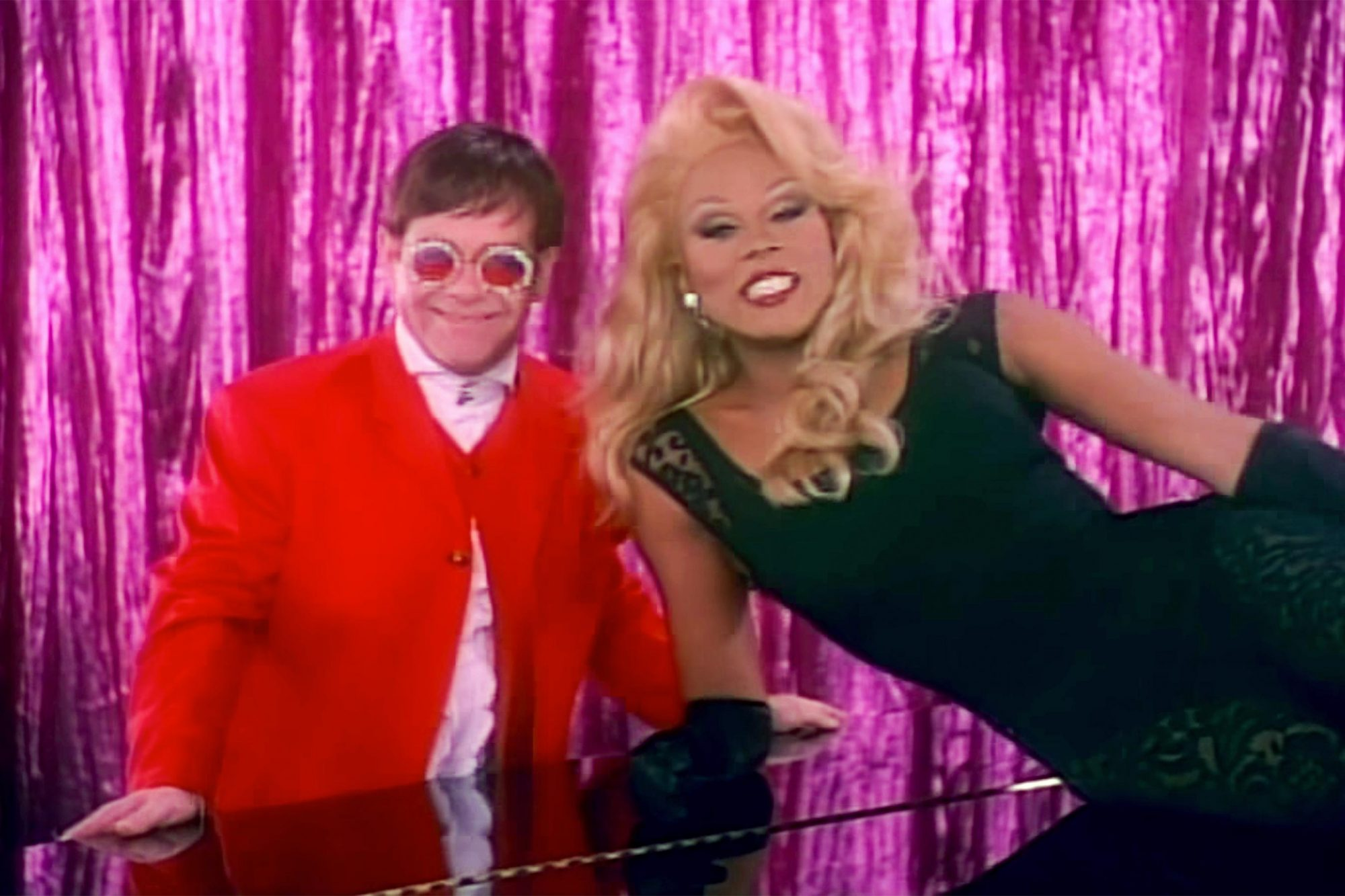 "Performed ""Don't Go Breakin' My Heart"" Duet With Elton John in 1994"