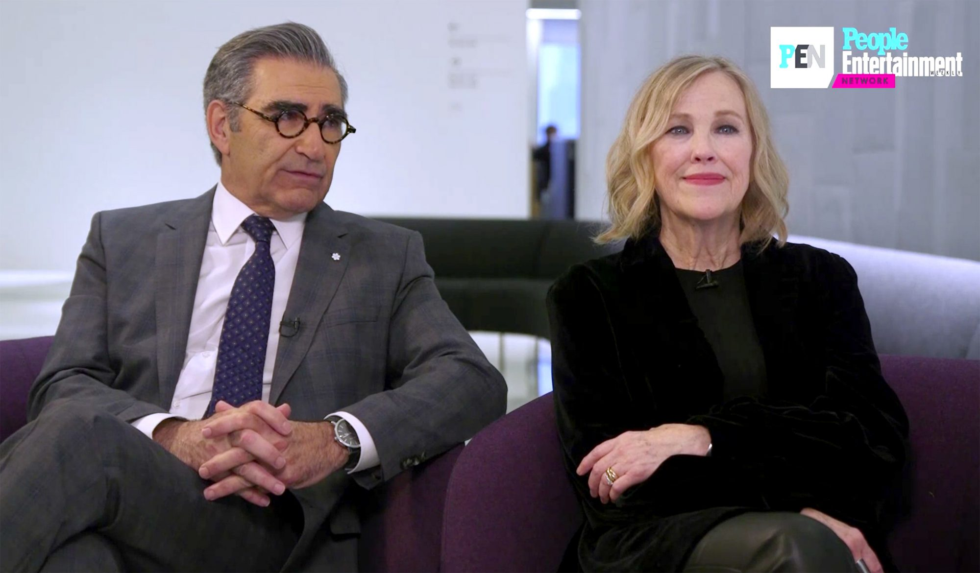 Eugene Levy and Catherine O'Hara