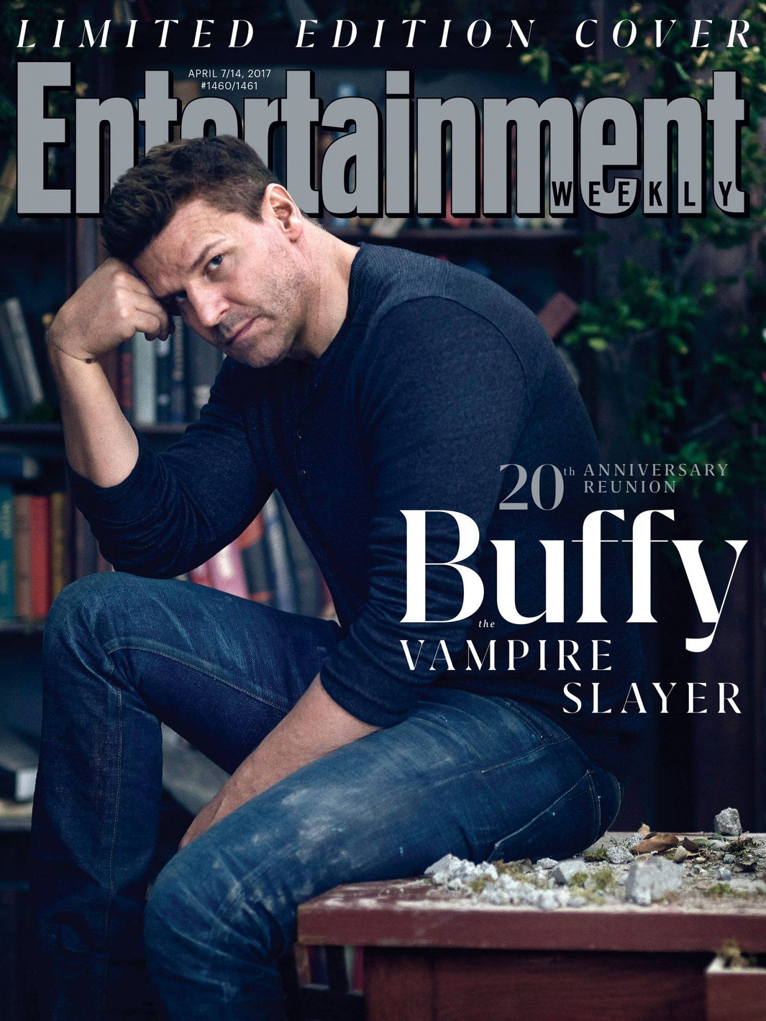 David Boreanaz on the Cover of EW