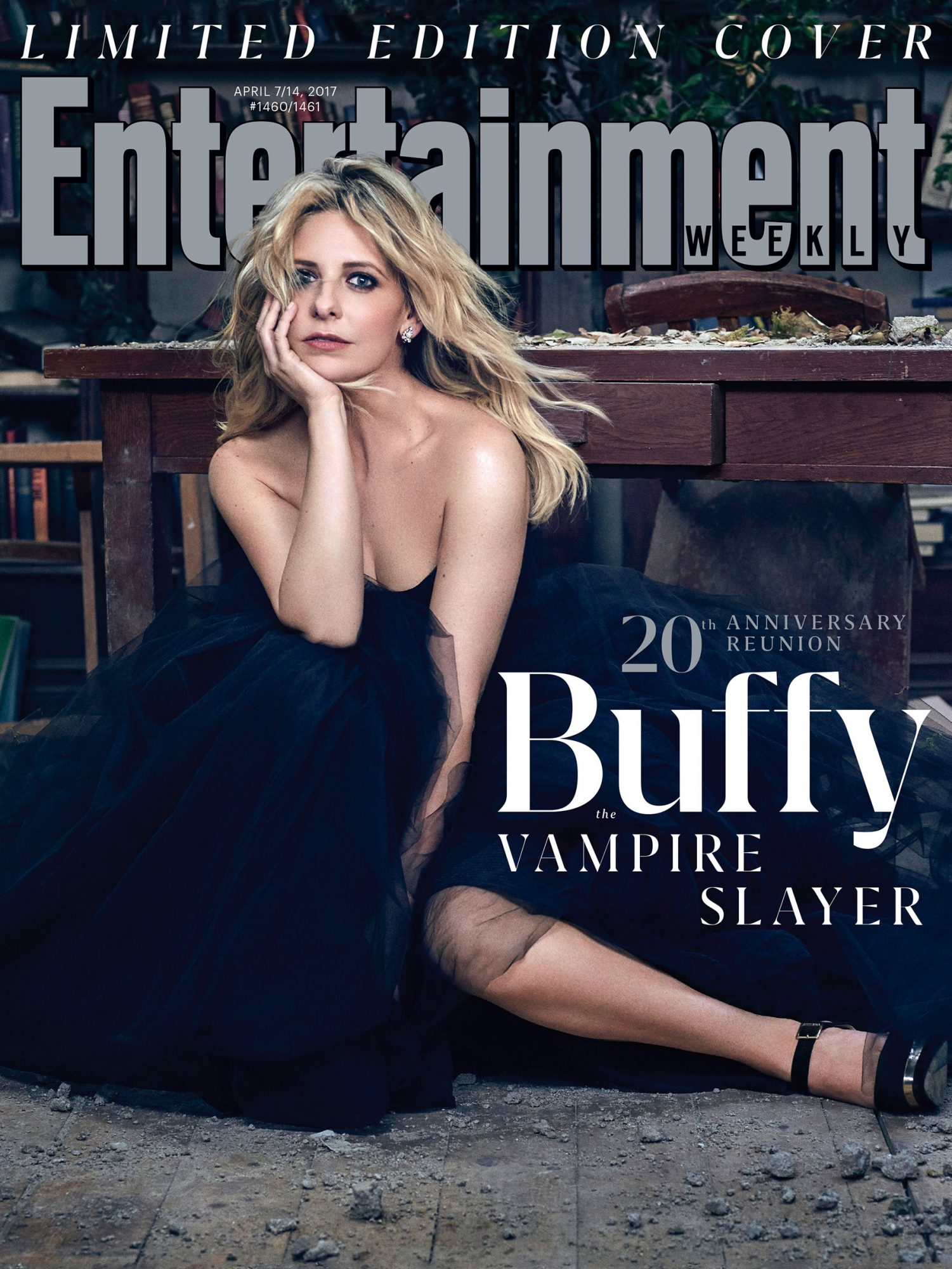 Sarah Michelle Gellar on the Cover of EW