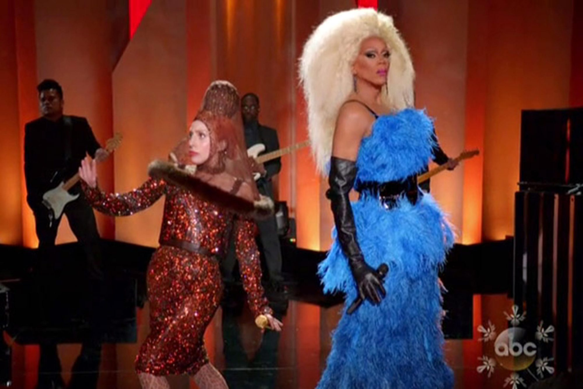 "Sang ""Fashion!"" with Lady Gaga During the Lady Gaga and the Muppets Holiday Spectacular in 2013"