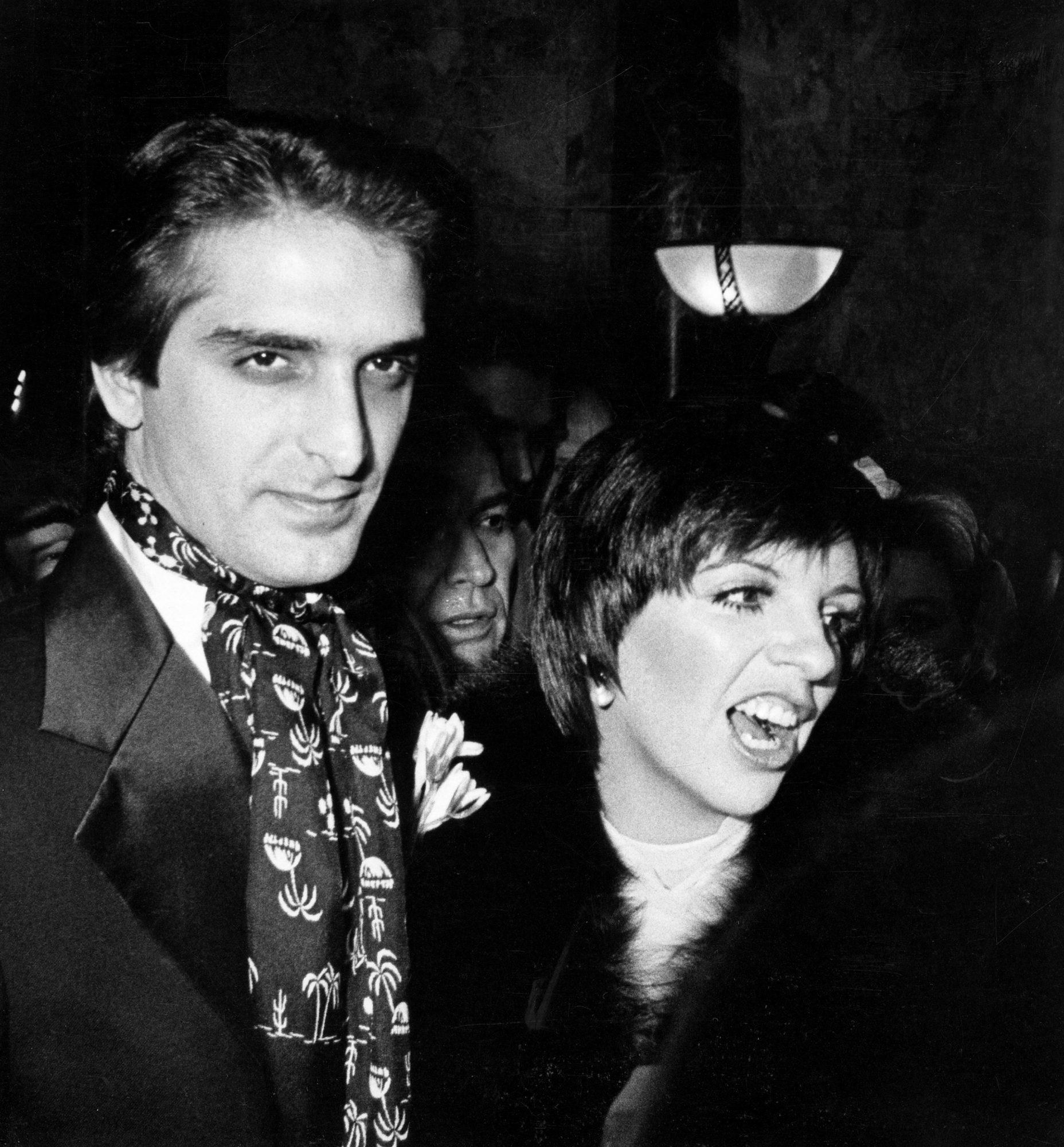 Liza Minnelli and Mark Gero Wedding - December 4, 1979