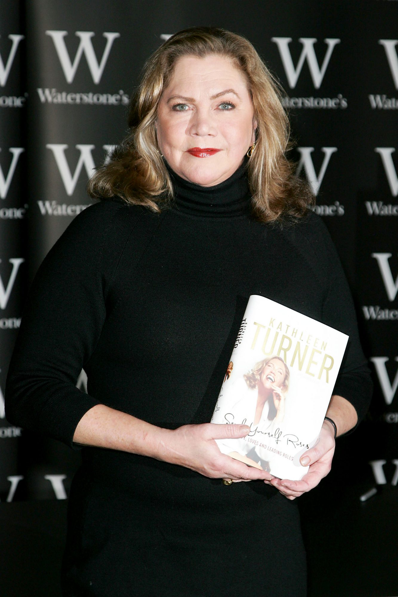 Kathleen Turner Signs Copies of Her Autobiography at Waterstone's in London