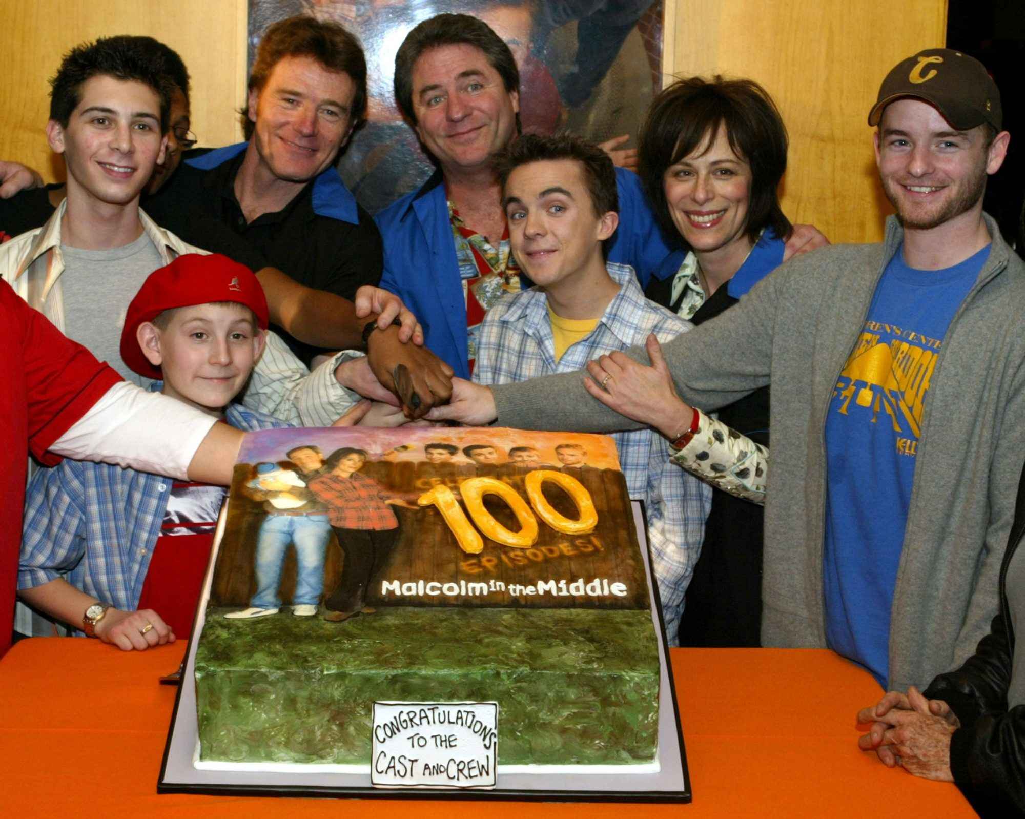 """Malcolm In the Middle"" 100th Episode Bowling Party"