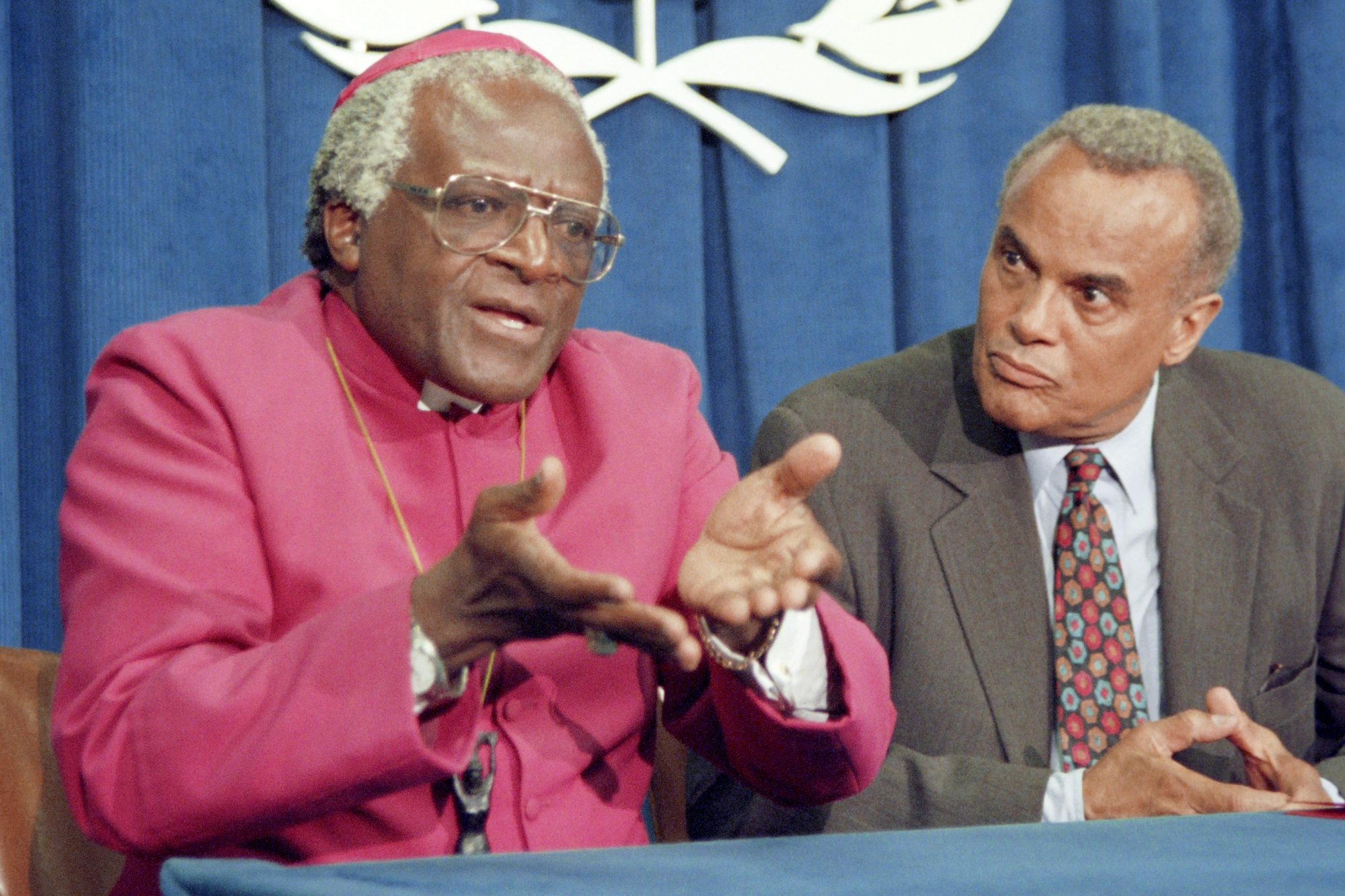 South African activist and Nobel Peace P