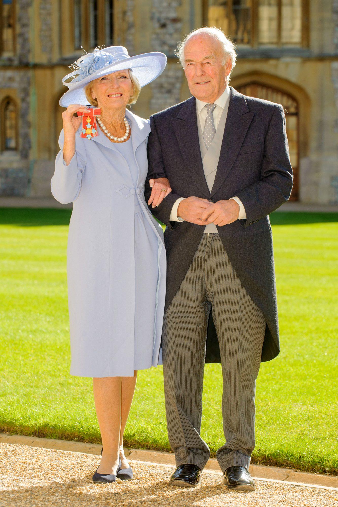 Investiture Ceremony At Windsor Castle