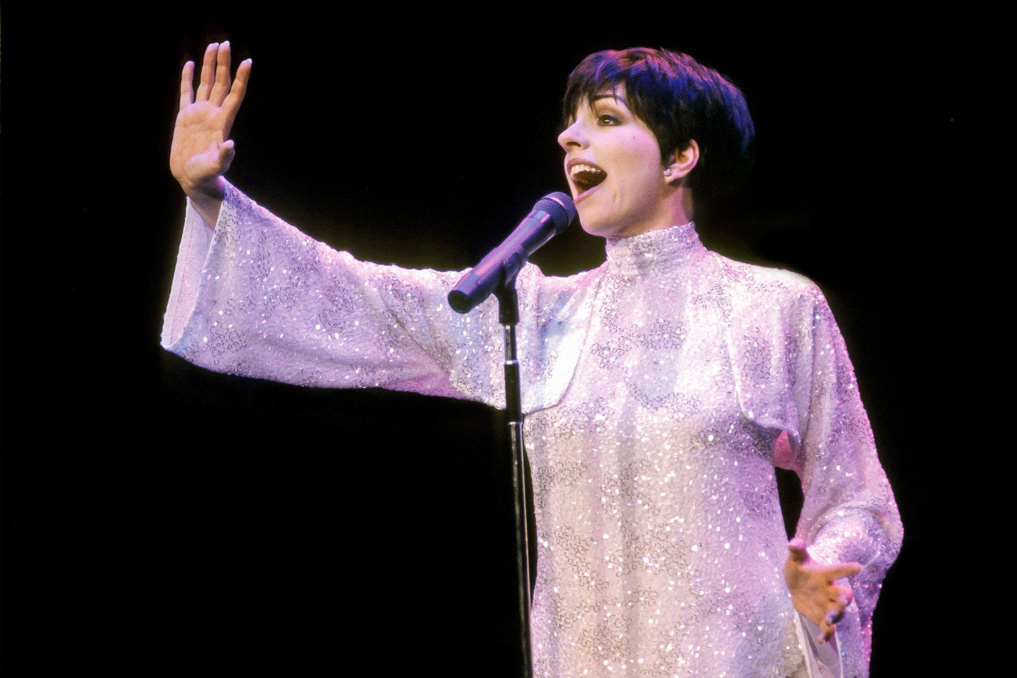 Liza Minnelli At Radio City Music Hall