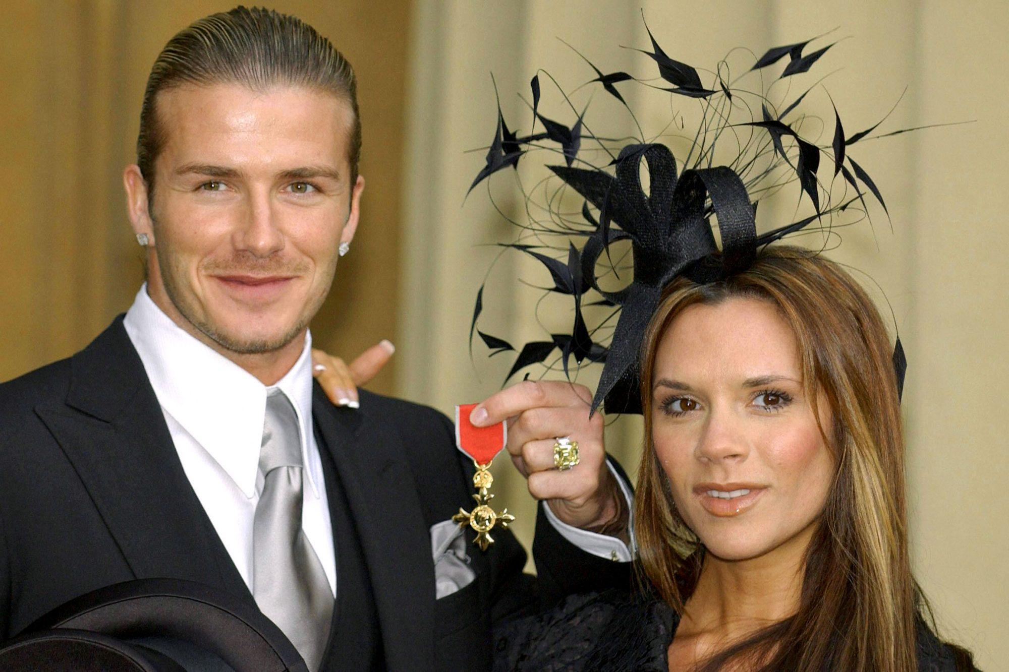 England's football captain David Beckham