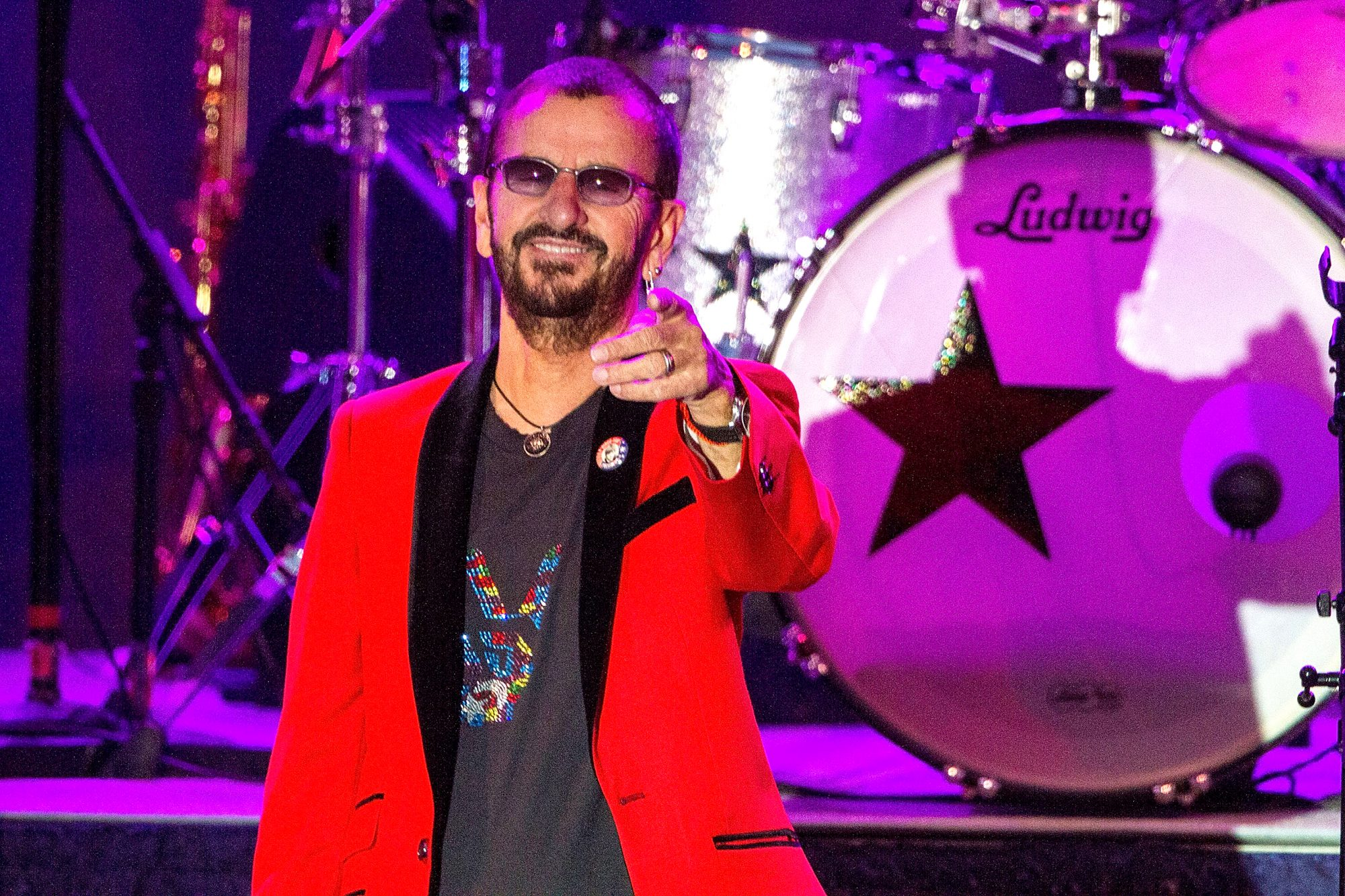Ringo Starr And His All Starr Band Performs At Humphrey's Concerts By The Bay