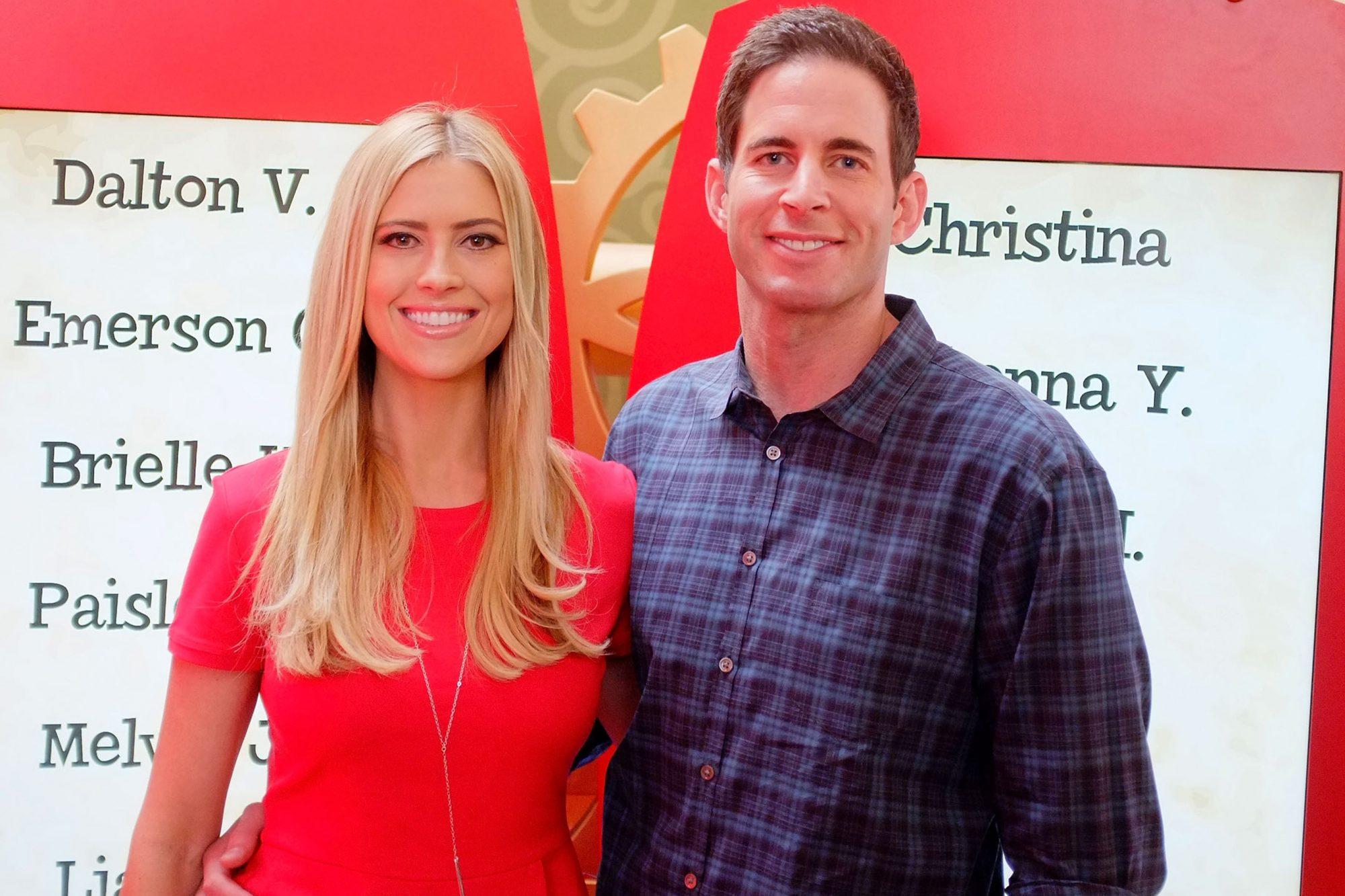 Tarek And Christina El Moussa, Hosts Of HGTV's Flip Or Flop, Visit Lakewood Center's Santa HQ