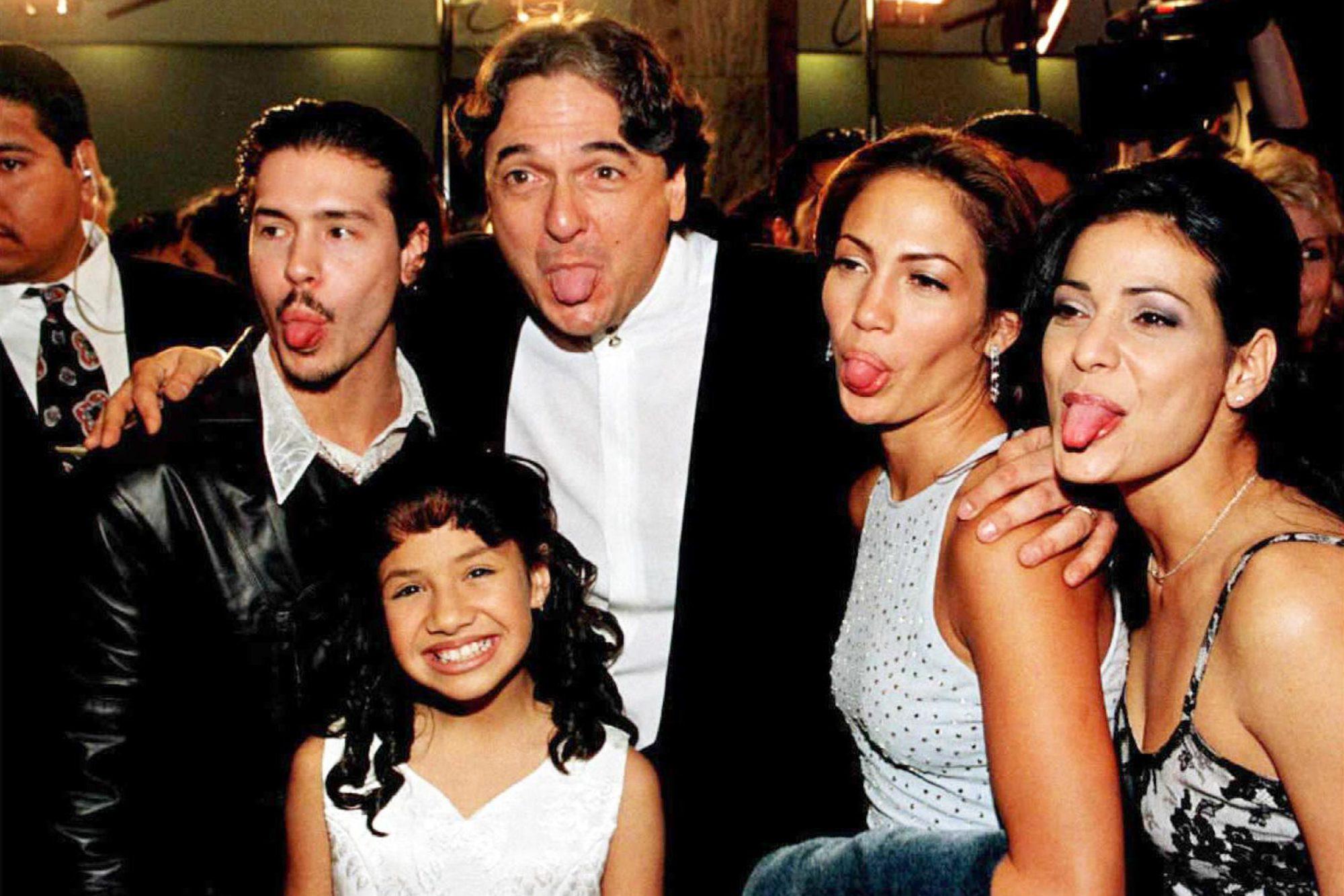 Cast members from left: Jon Seda, Becky Lee Meza,