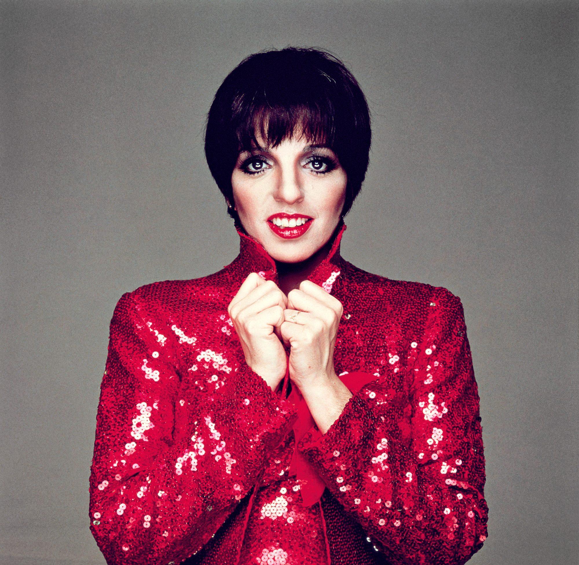 Minnelli In Red
