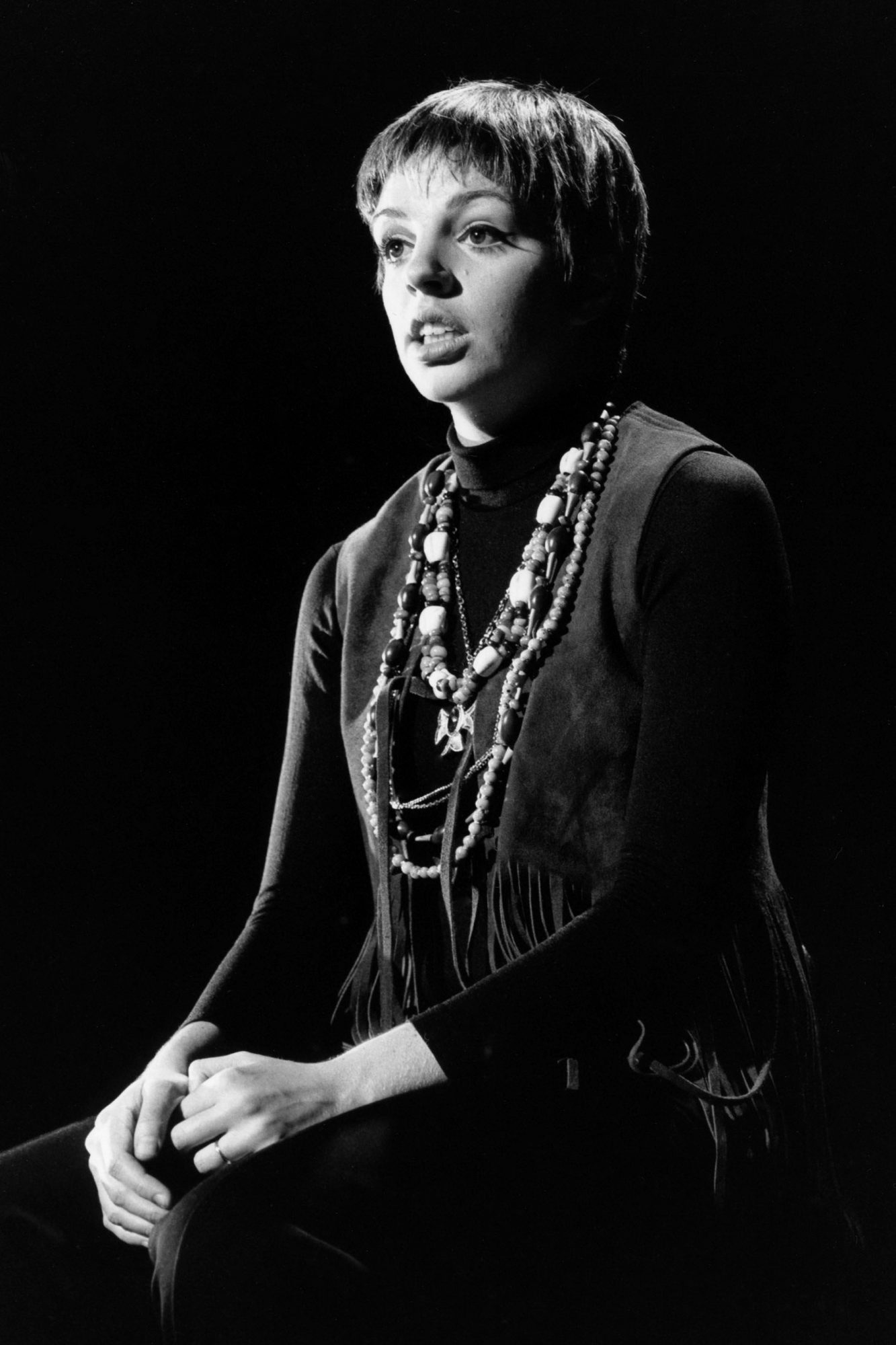 Liza Minnelli Performs On 'Ed Sullivan Show'