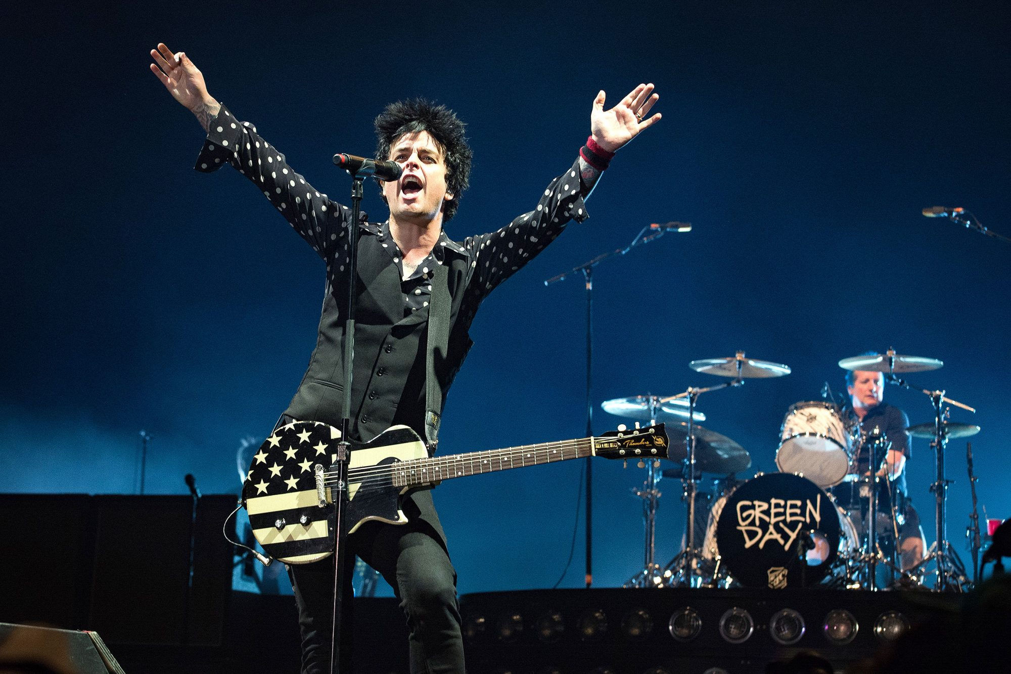 Green Day Perform at L'AccorHotels Arena In Paris