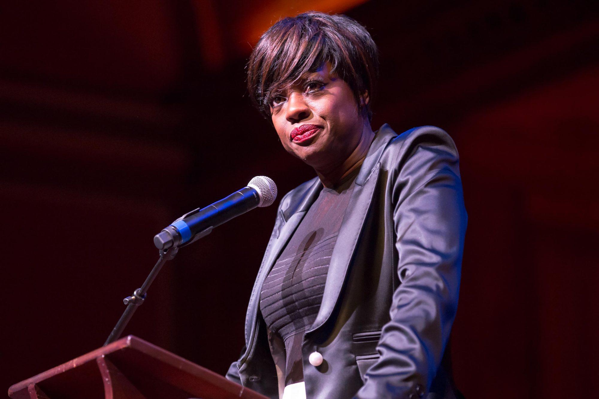 Viola Davis Awarded Harvard Foundation's 2017 Artist Of The Year