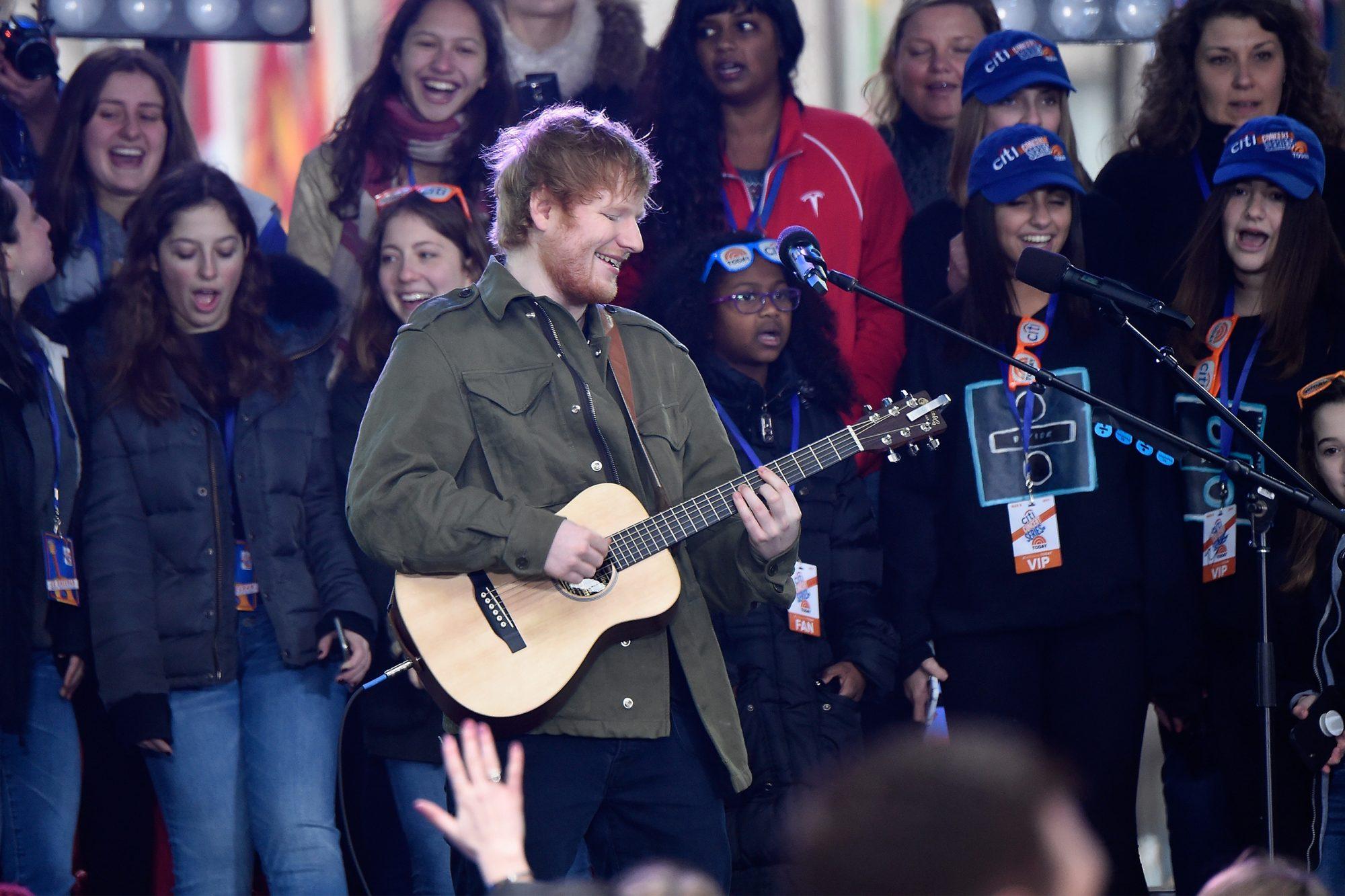 Citi Concert Series on TODAY Presents Ed Sheeran