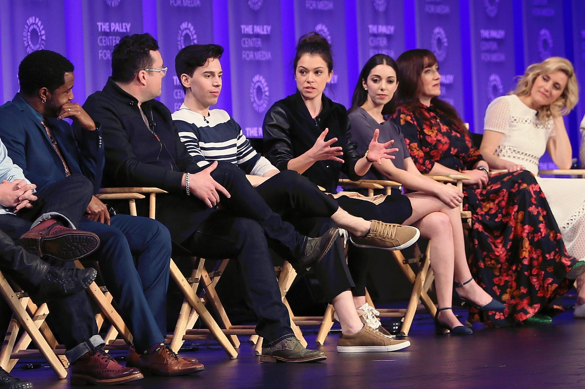 """The Paley Center For Media's 34th Annual PaleyFest Los Angeles - """"Orphan Black"""" - Inside"""
