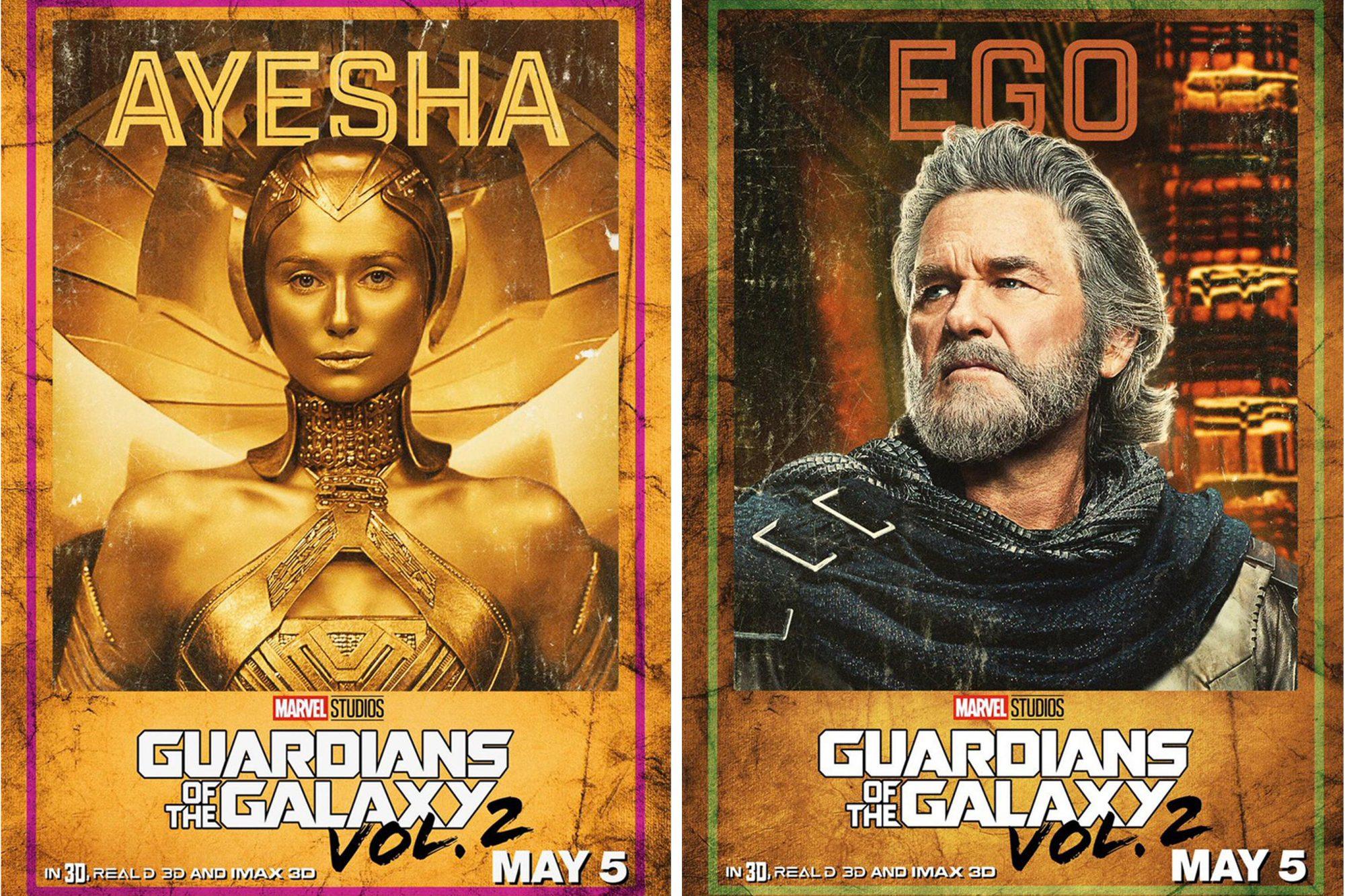 Guardians of the Galaxy 2 - Ayesha & Ego