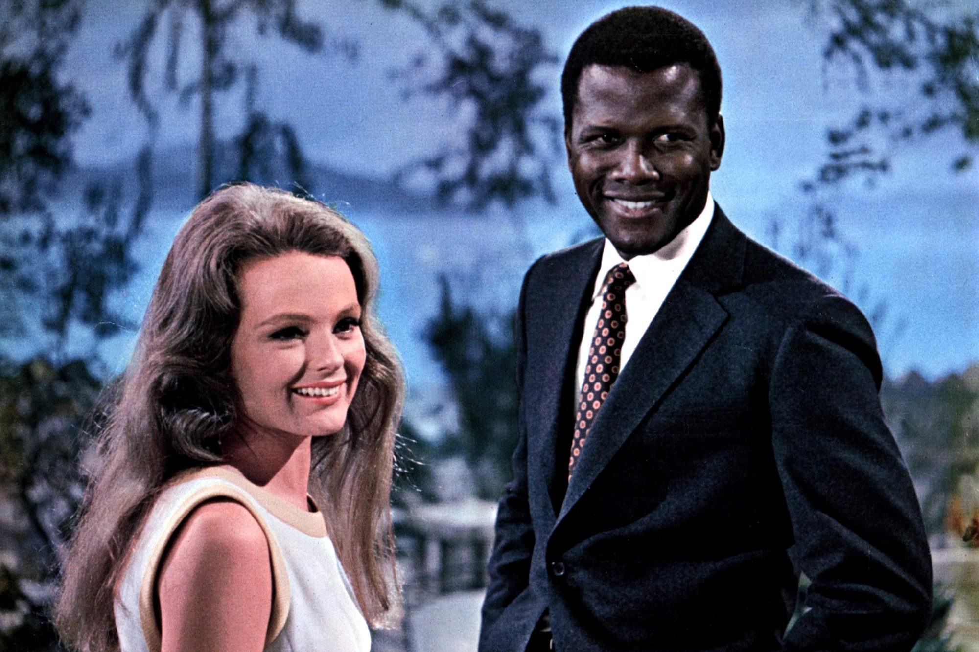 GUESS WHO'S COMING TO DINNER, Katharine Houghton, Sidney Poitier, 1967