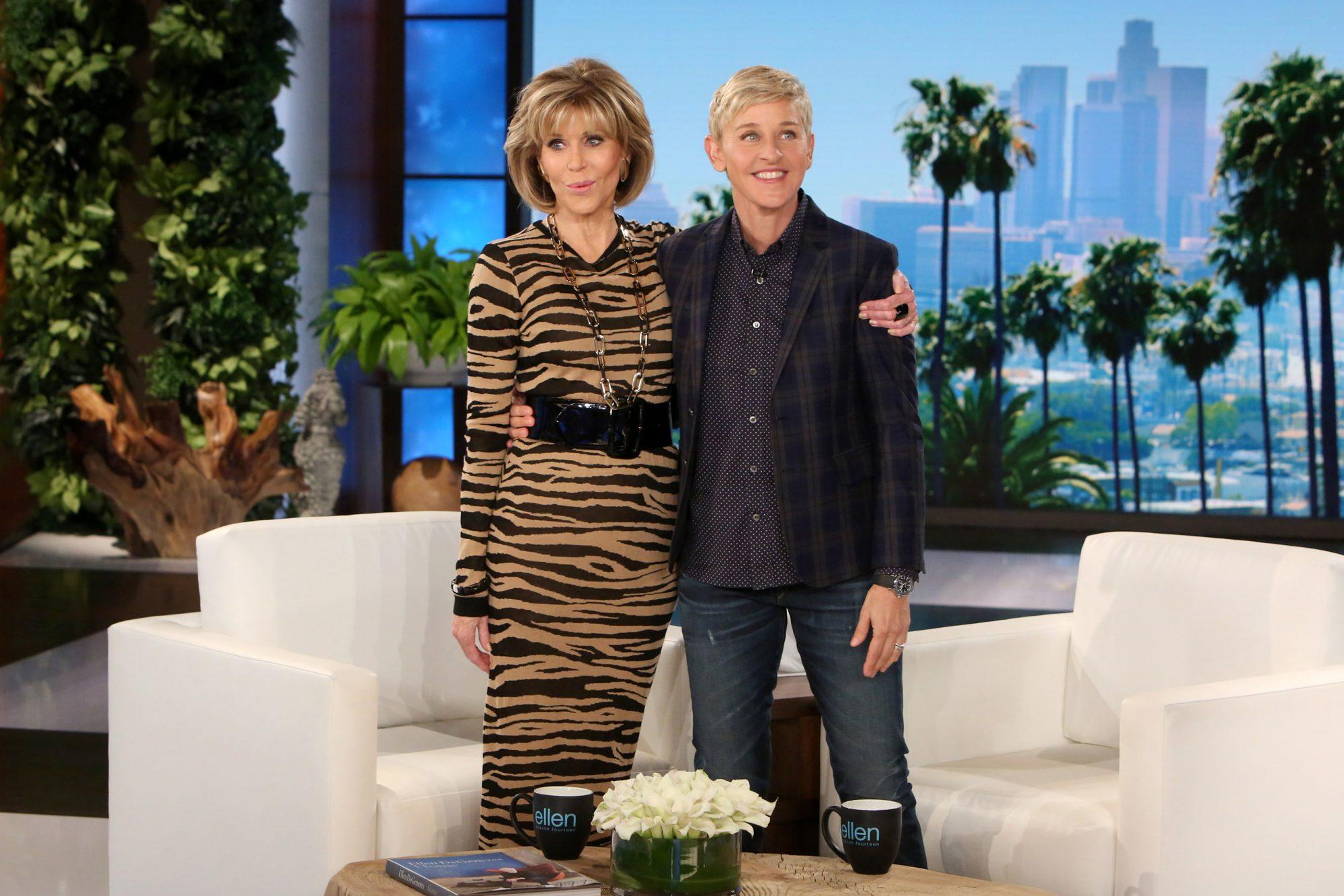 Jane Fonda on Ellen