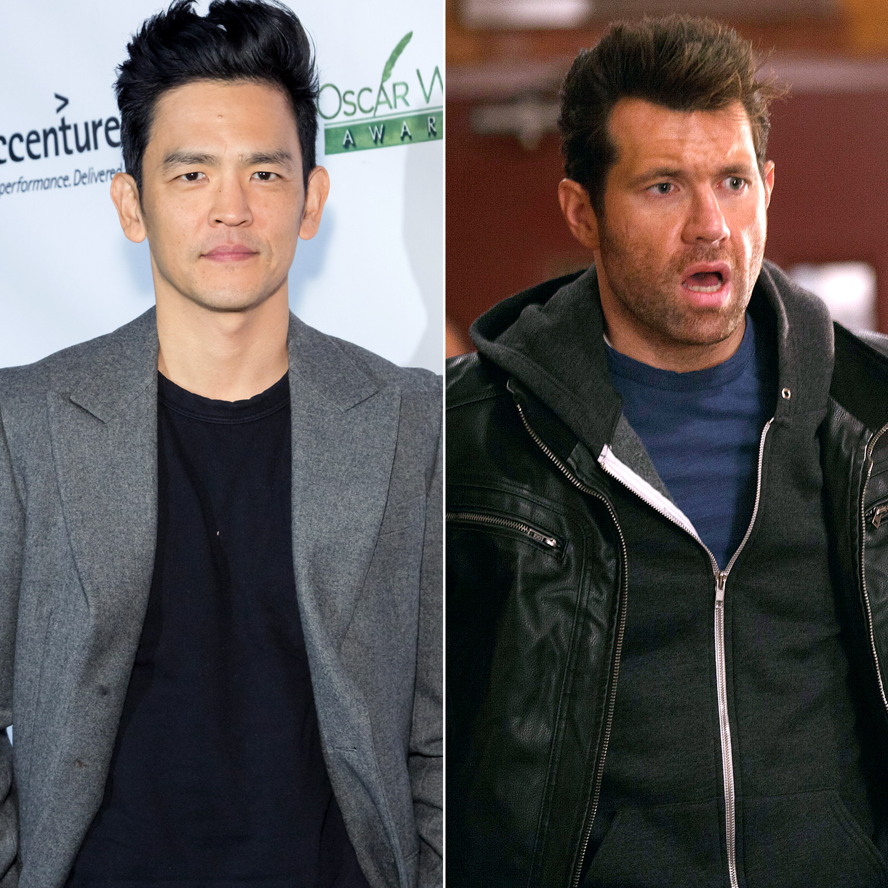 John Cho and Billy Eichner