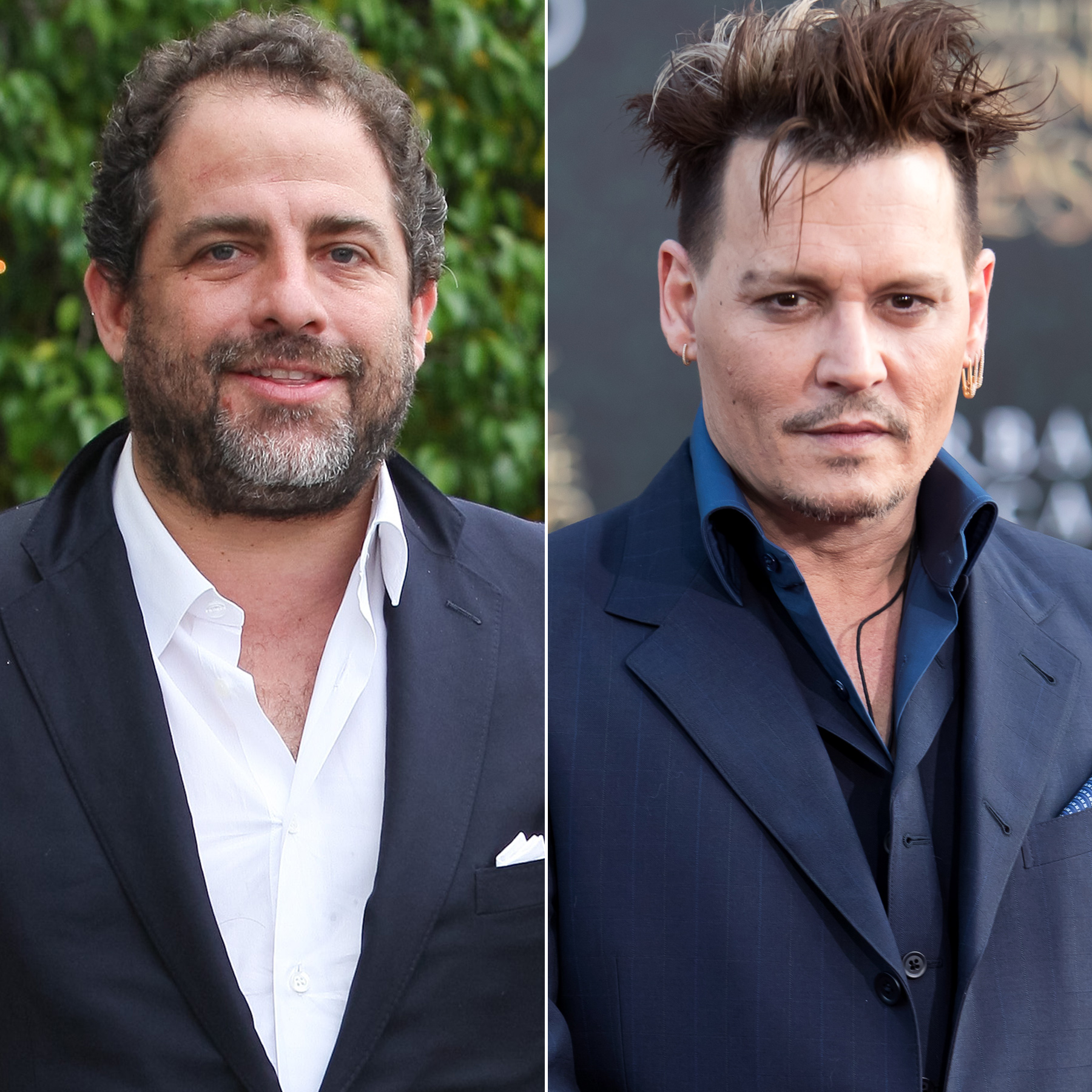 Johnny Depp and Brett Ratner
