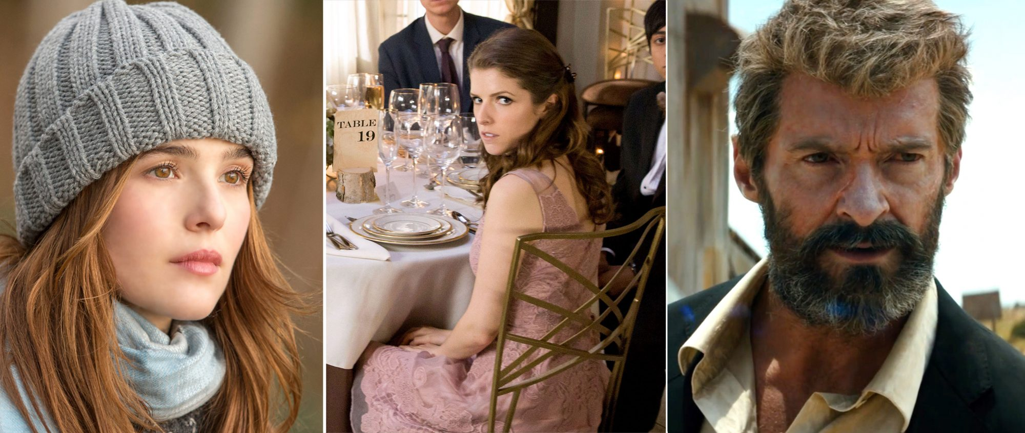 Before I Fall, Table 19, and Logan