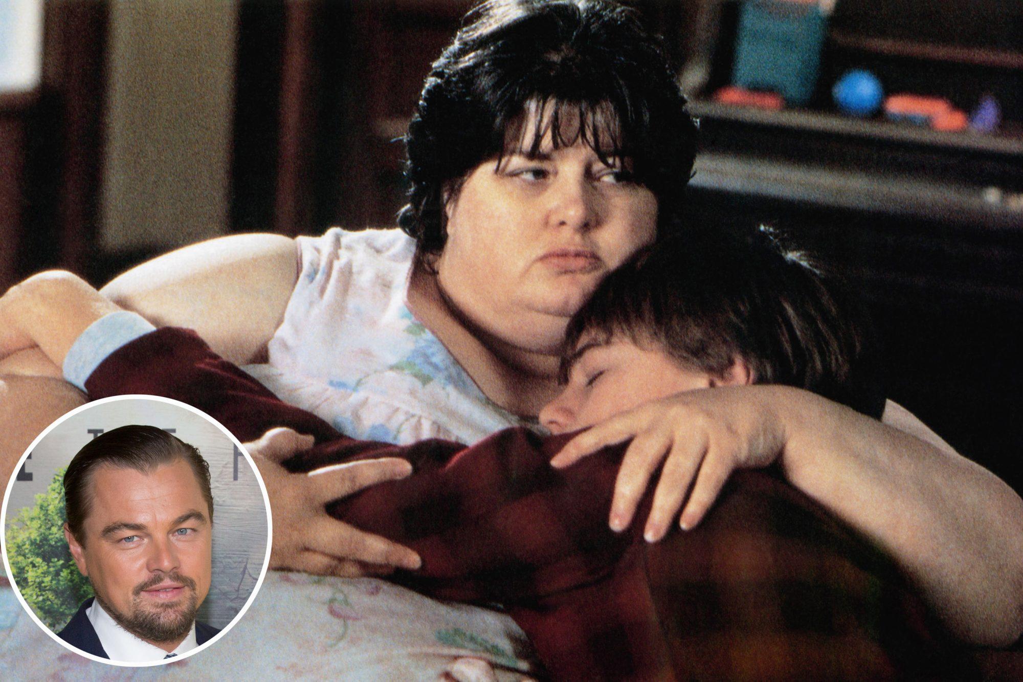 WHAT'S EATING GILBERT GRAPE, from left: Darlene Cates, Leonardo DiCaprio, 1993, © Paramount/courtesy