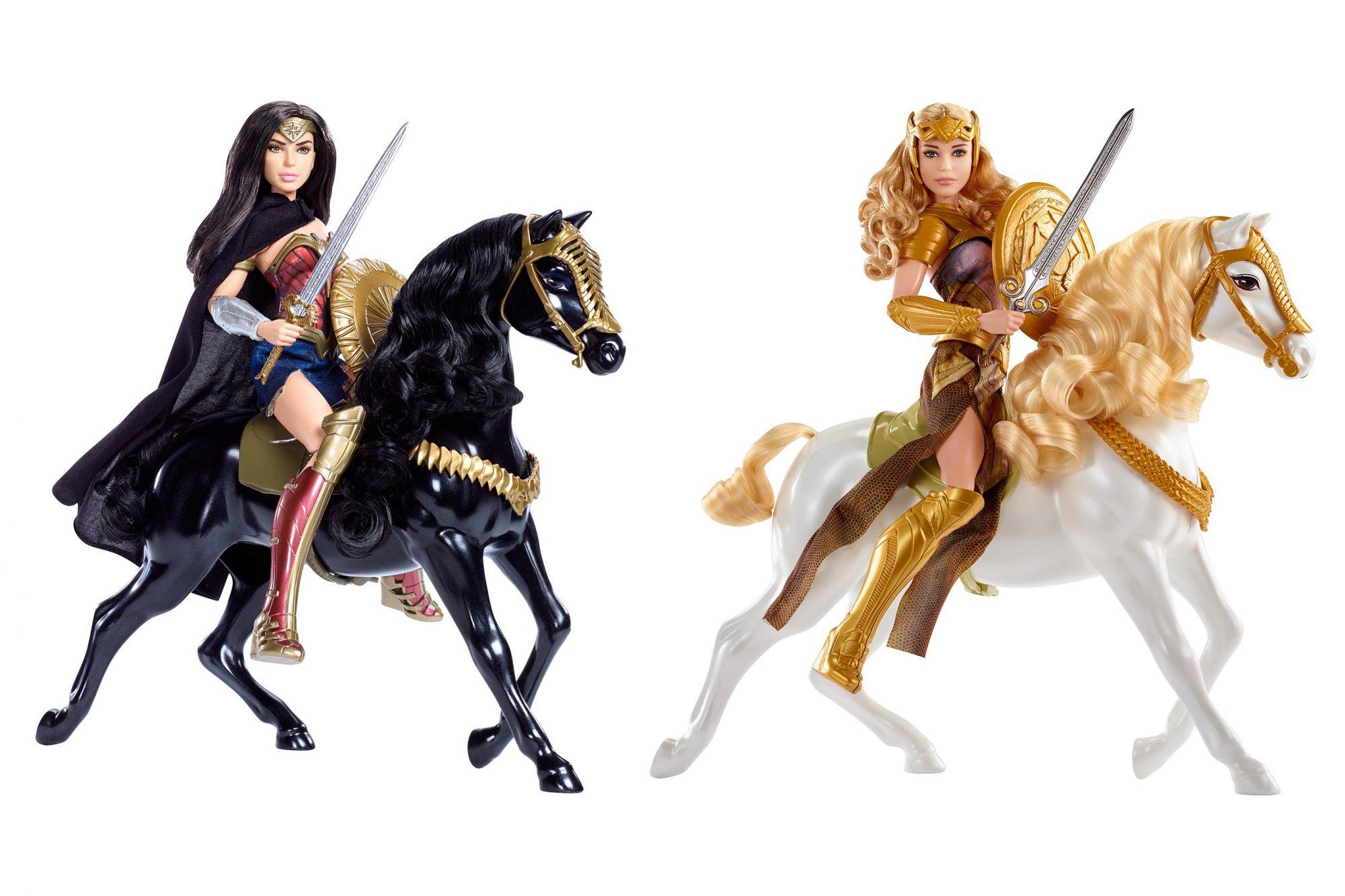 Wonder Woman Dolls CR: Mattel
