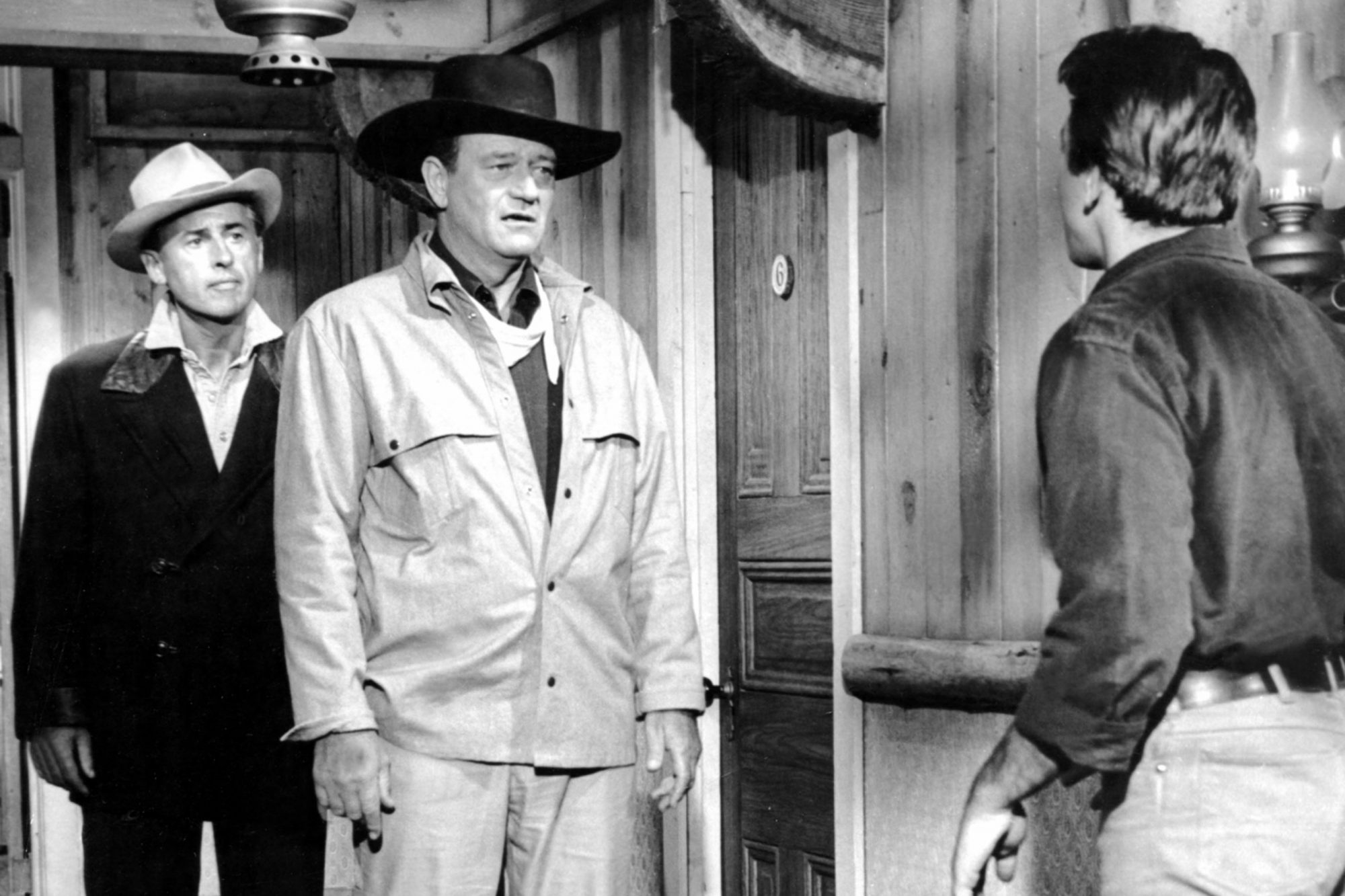 NORTH TO ALASKA, Stewart Granger, John Wayne, Fabian, 1960, (c) 20th Century Fox / TM & Copyright /